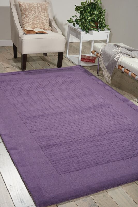 Aspasia Purple Area Rug Rug Size: Rectangle 5' x 8'