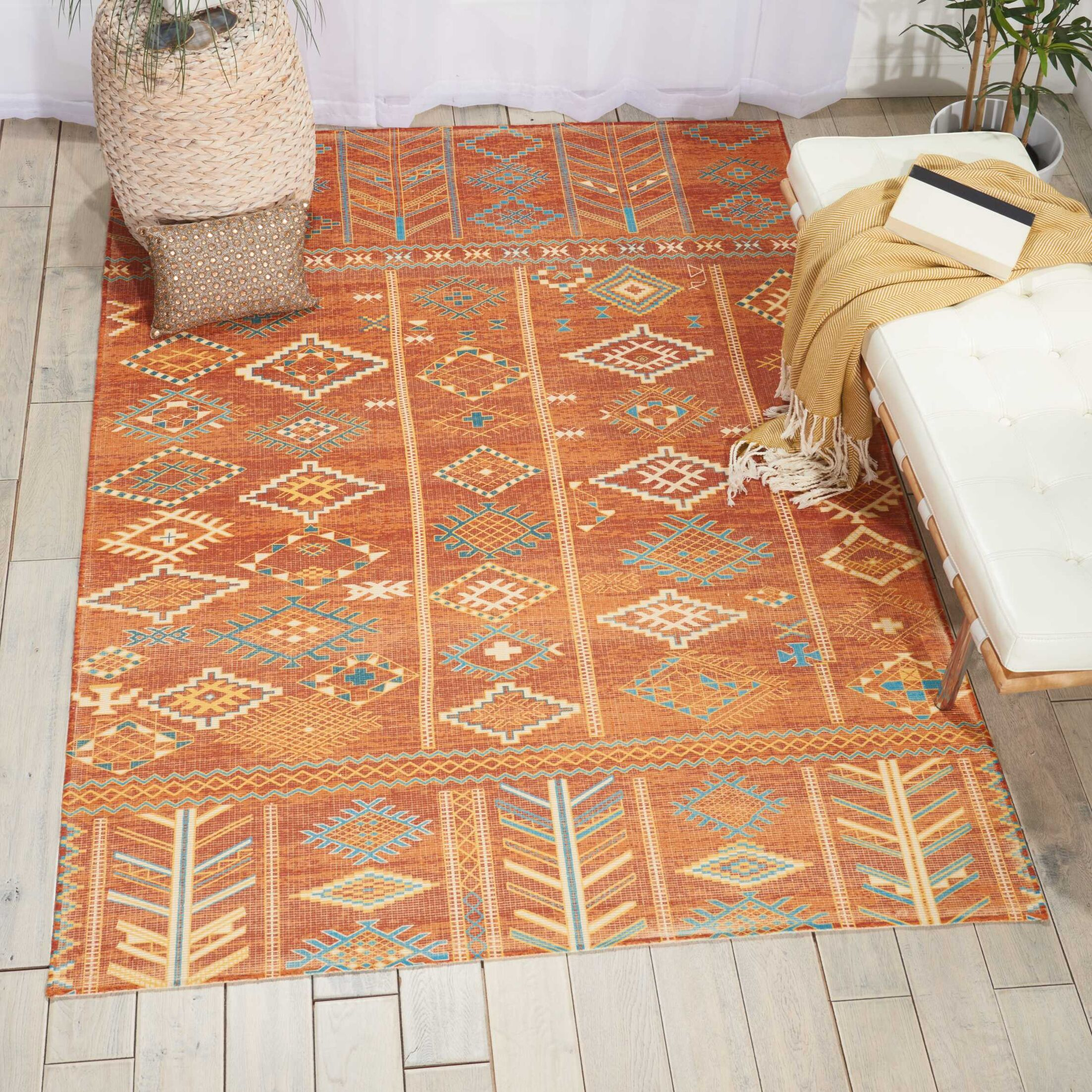 Wilkerson Sunset Area Rug Rug Size: Rectangle 6'6