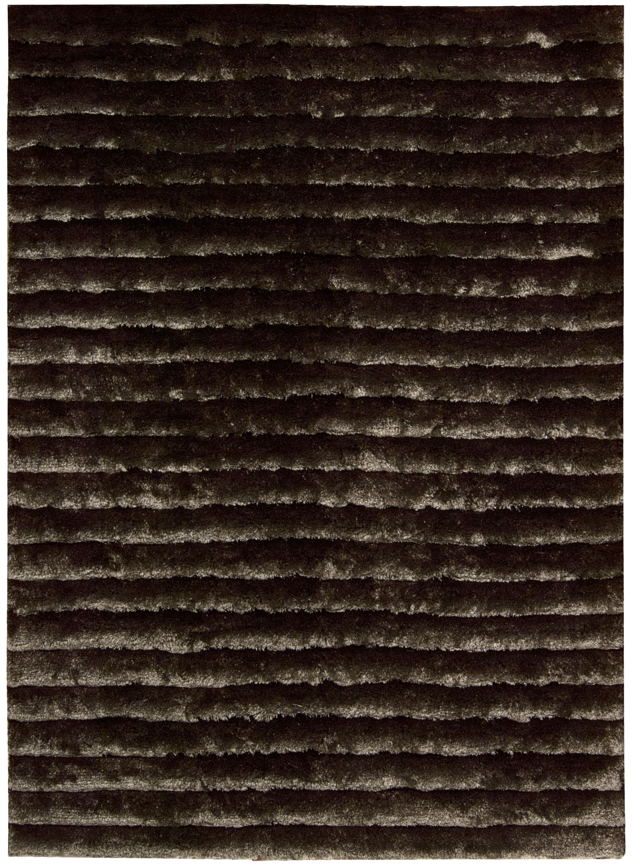 Veer Hand-Tufted Mahogany Area Rug Rug Size: Rectangle 8' x 10'