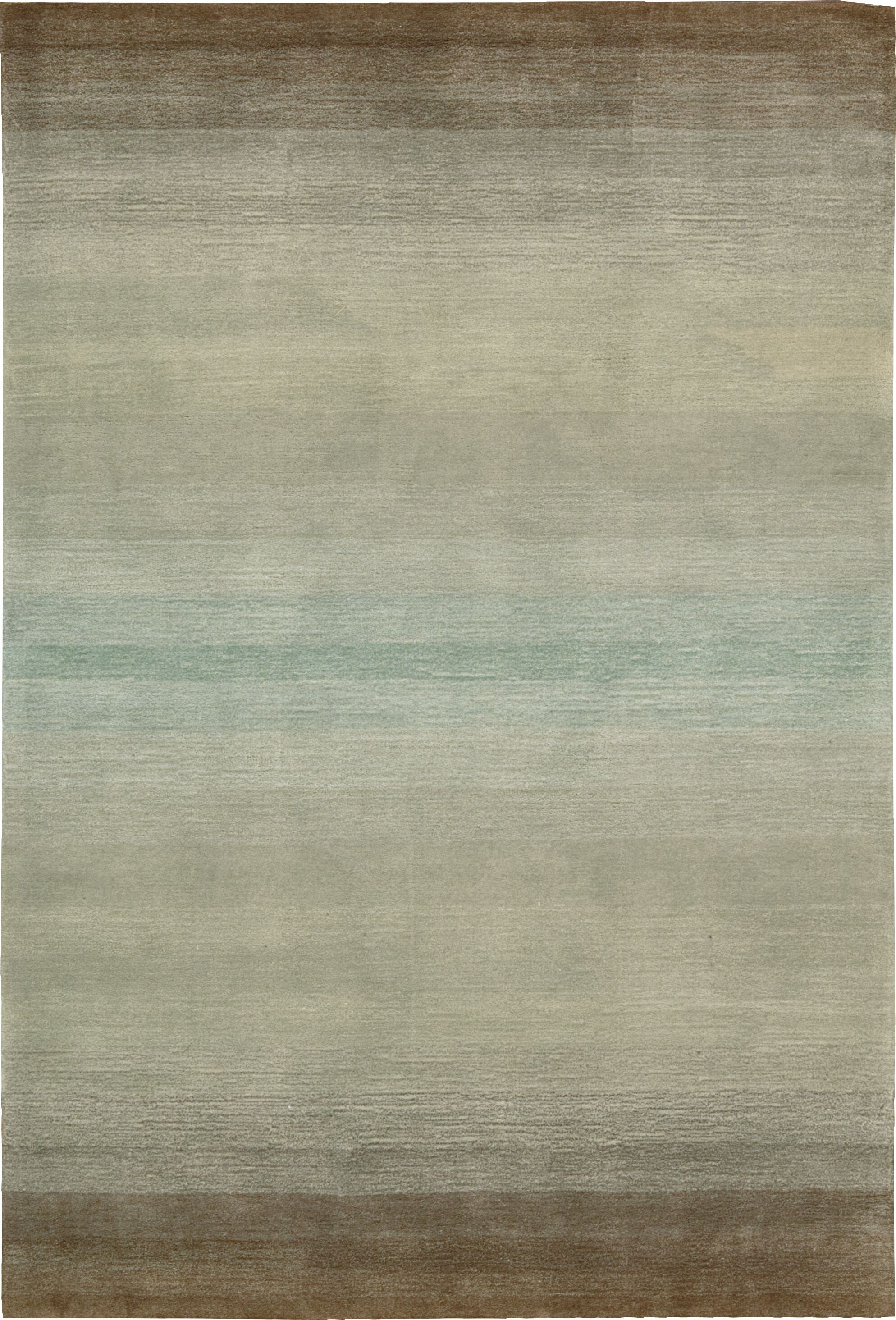 Ollie Hand-Tufted Gray Area Rug Rug Size: Rectangle 5' x 7'6