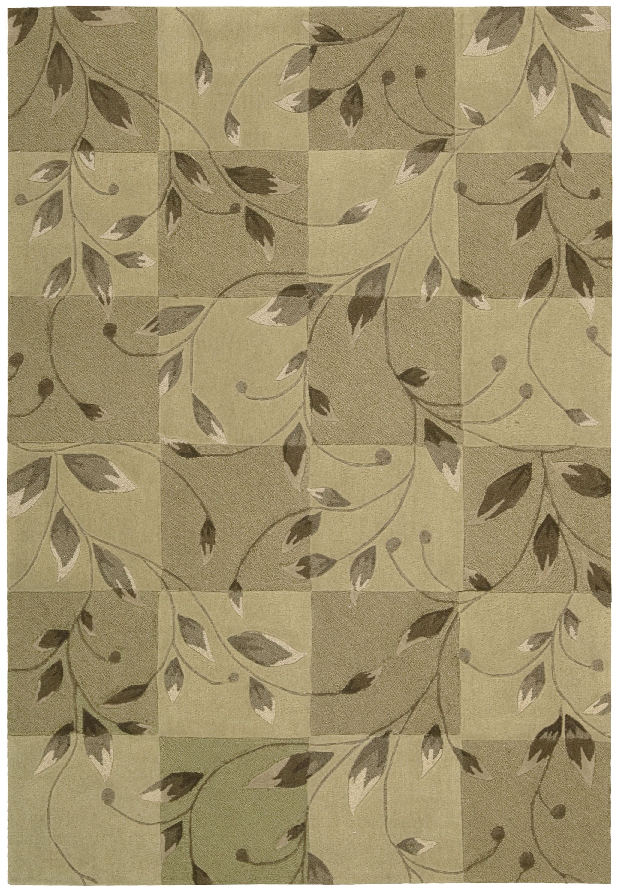 Kelsey Hand-Tufted Carmel Area Rug Rug Size: Rectangle 8' x 10'6