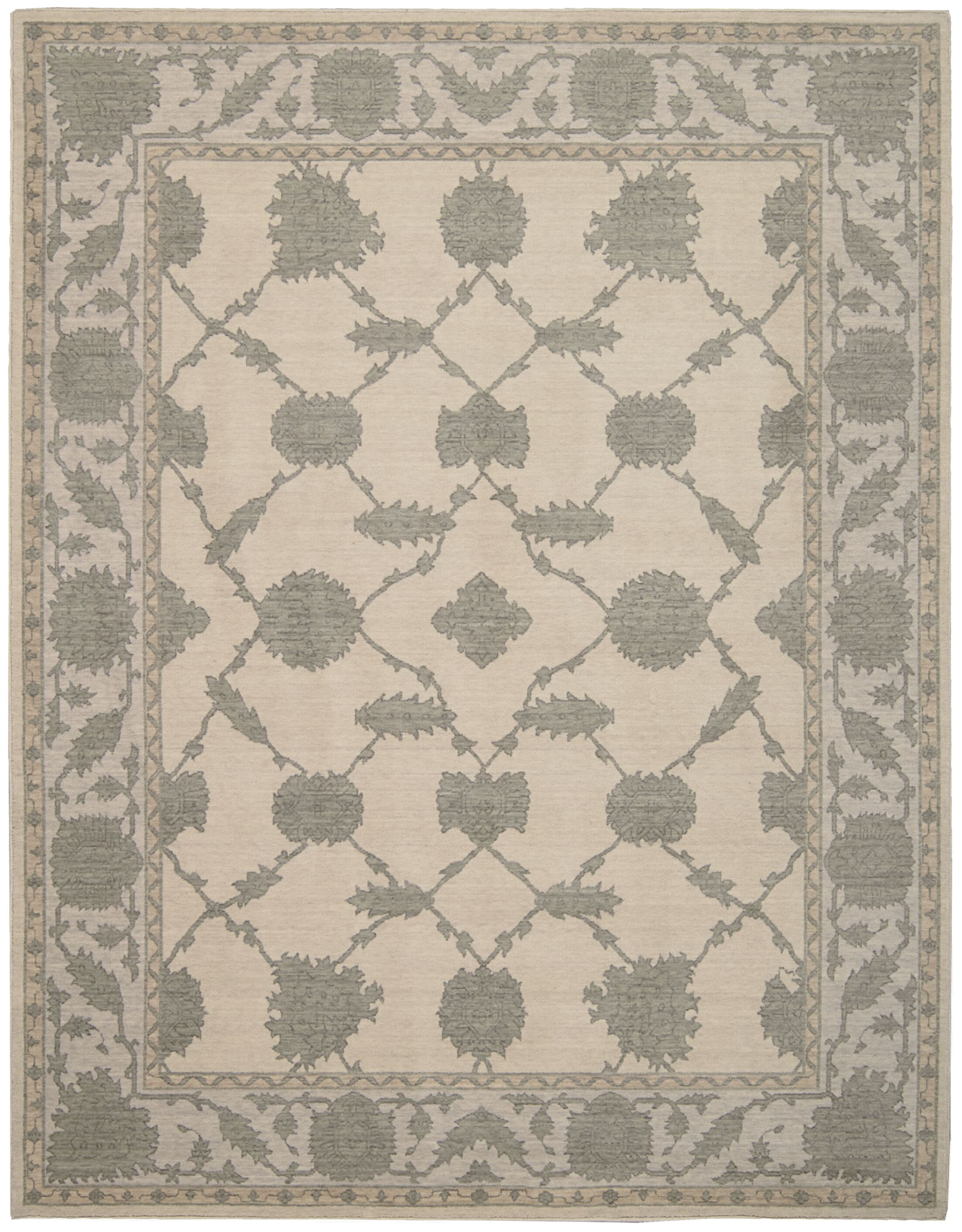 Deeksha Parchment Area Rug Rug Size: Rectangle 2'6