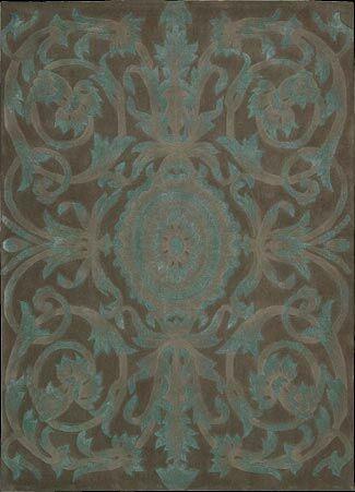 Zaniel Hand-Tufted Mocha Area Rug Rug Size: Rectangle 8' x 11'