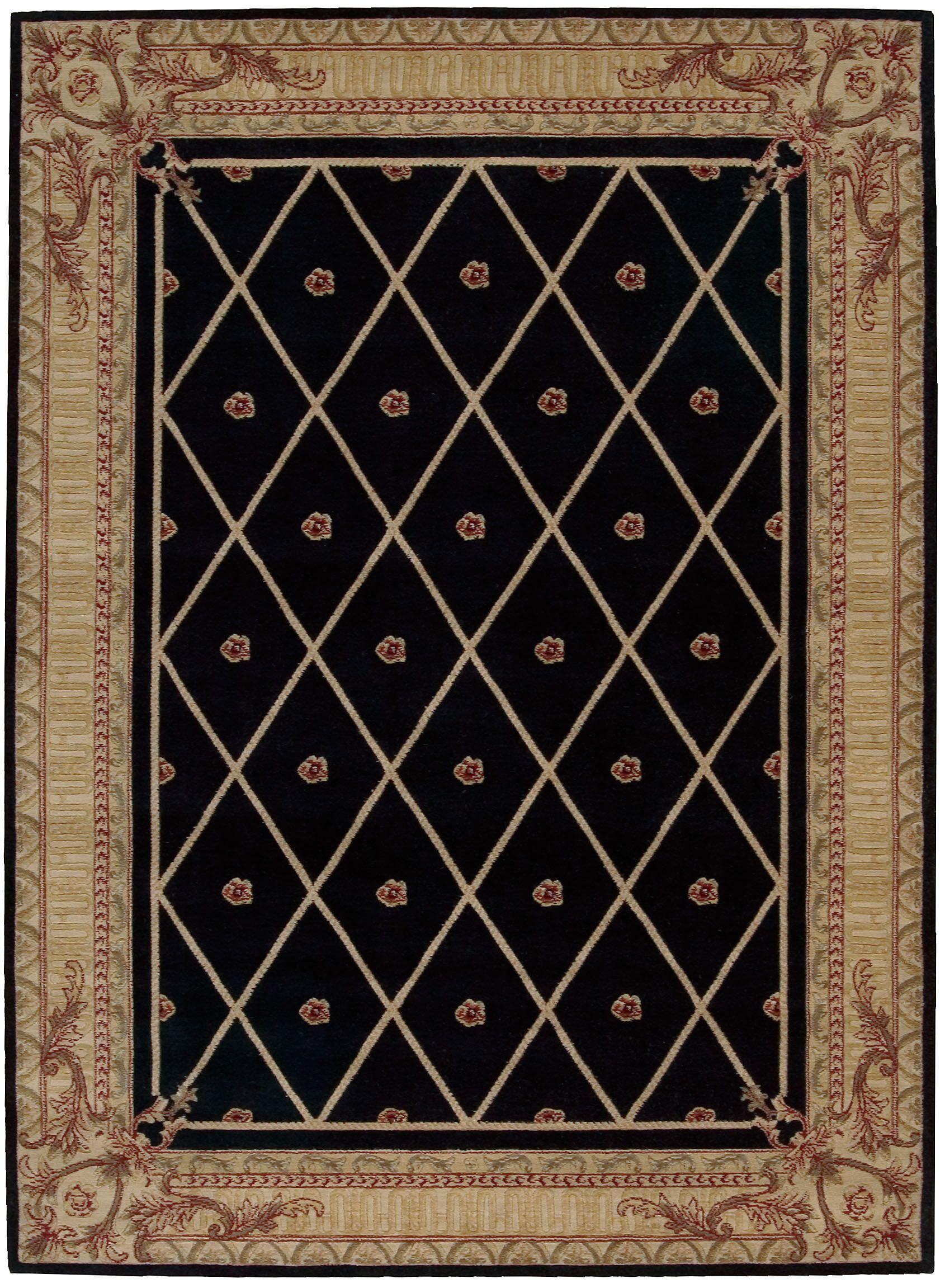 Payzley Black Area Rug Rug Size: Rectangle 2' x 5'9