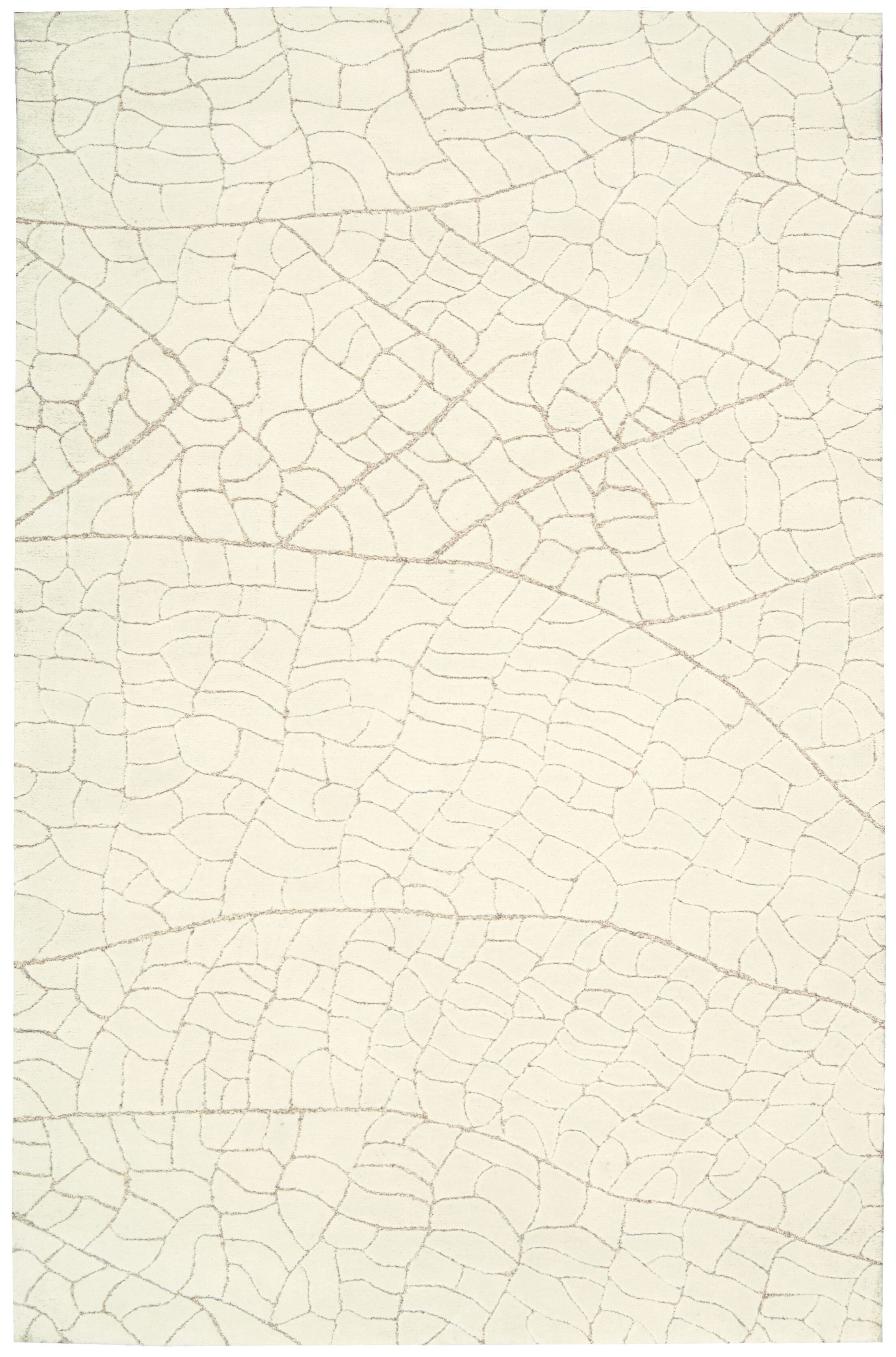 Imhoff Hand-Tufted Ivory Area Rug Rug Size: Runner 2'3
