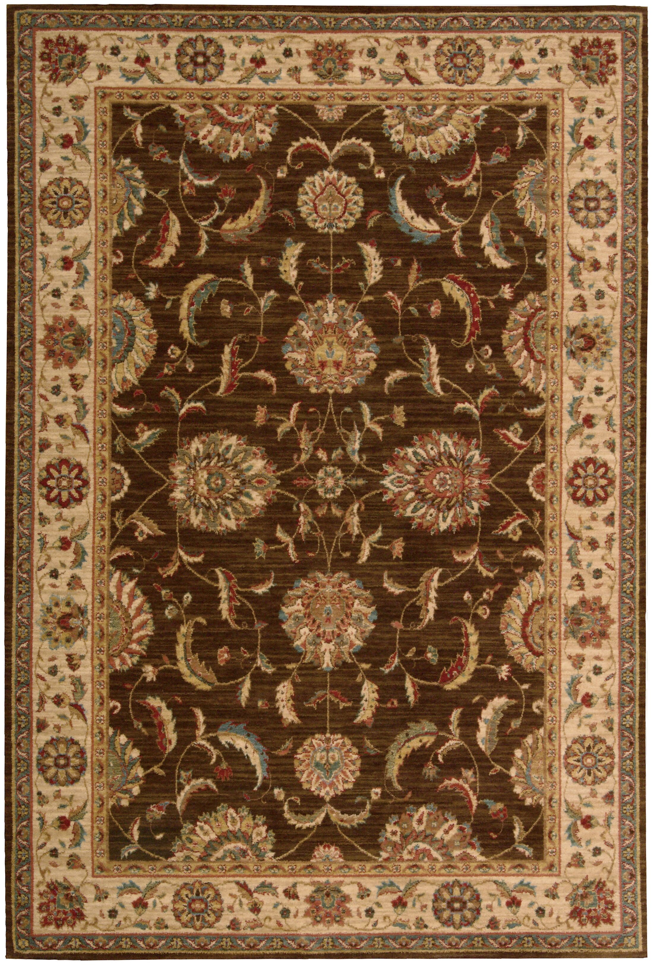 Crownover Brown Area Rug Rug Size: Rectangle 7'6