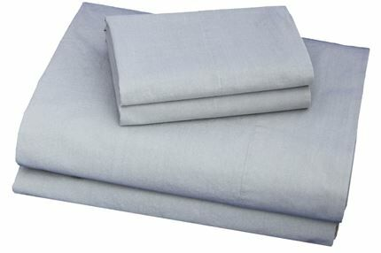 300 Thread Count Cotton Sheet Set Size: Full, Color: Charcoal