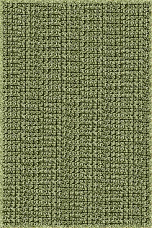 Myrtle Hand-Woven Green Indoor/Outdoor Area Rug Rug Size: Rectangle 8' x 10'