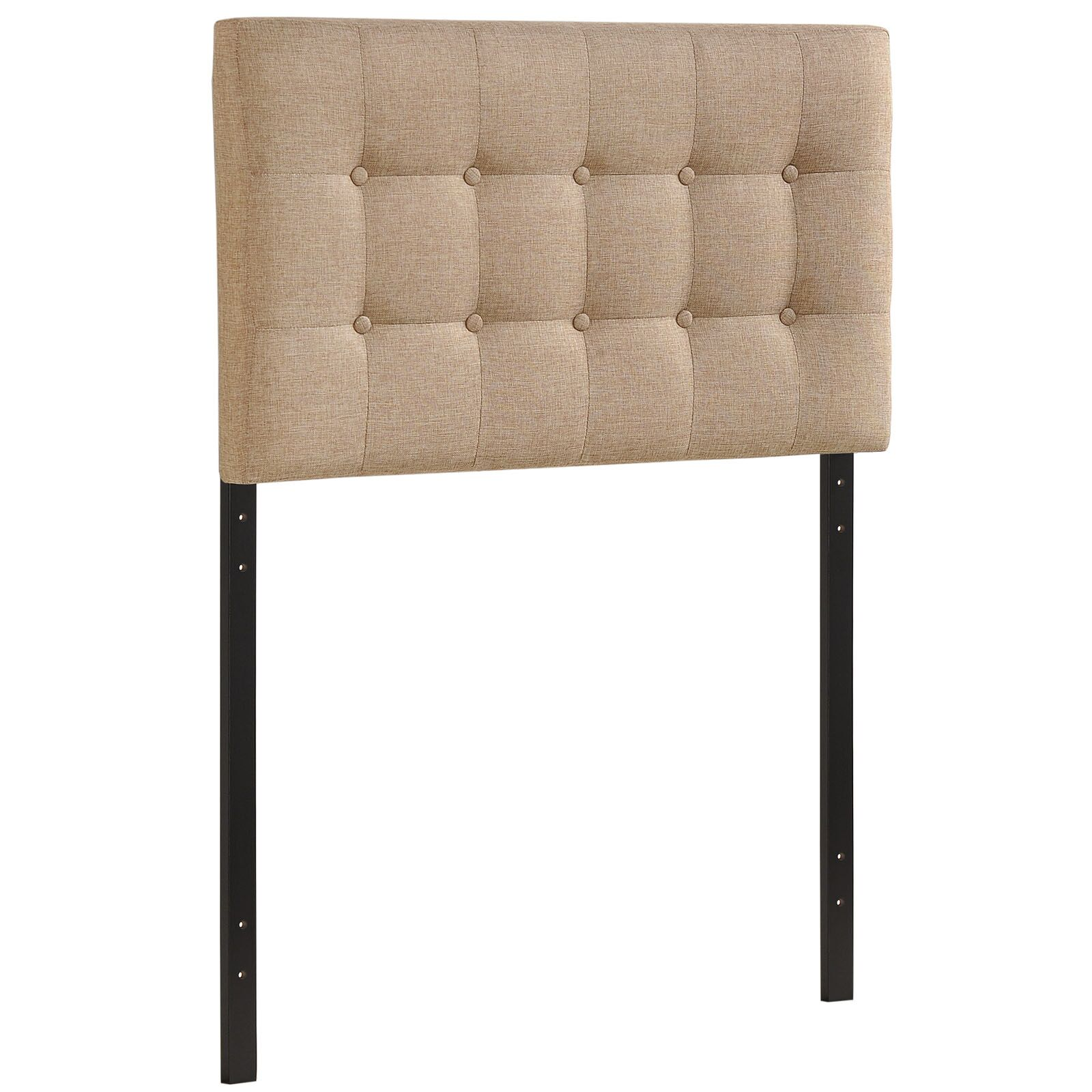 Corneau Upholstered Panel Headboard Size: Queen, Upholstery: Ivory