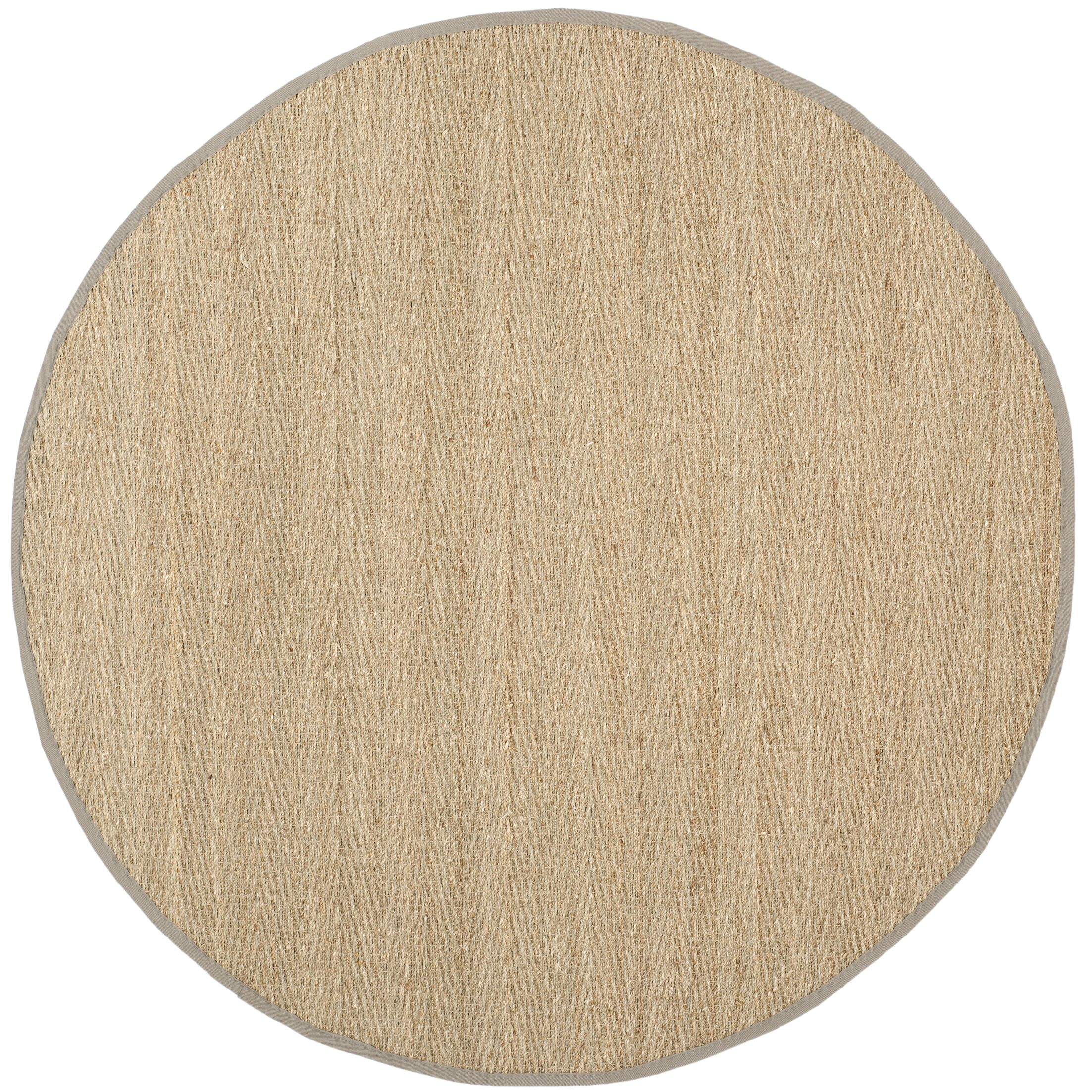 Roloff Brown Area Rug Rug Size: Round 8'