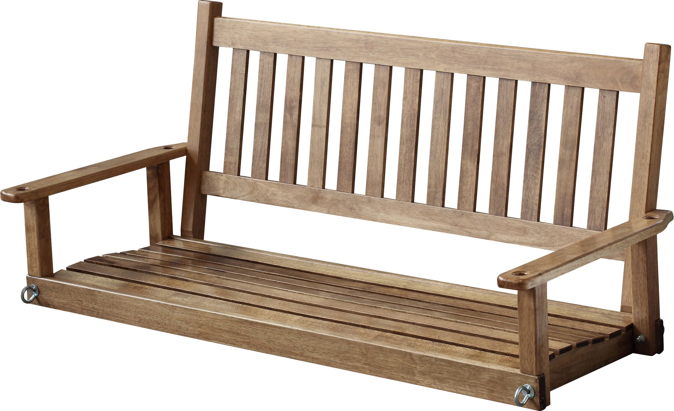 Franklin Springs Porch Swing Color: White, Size: 5'