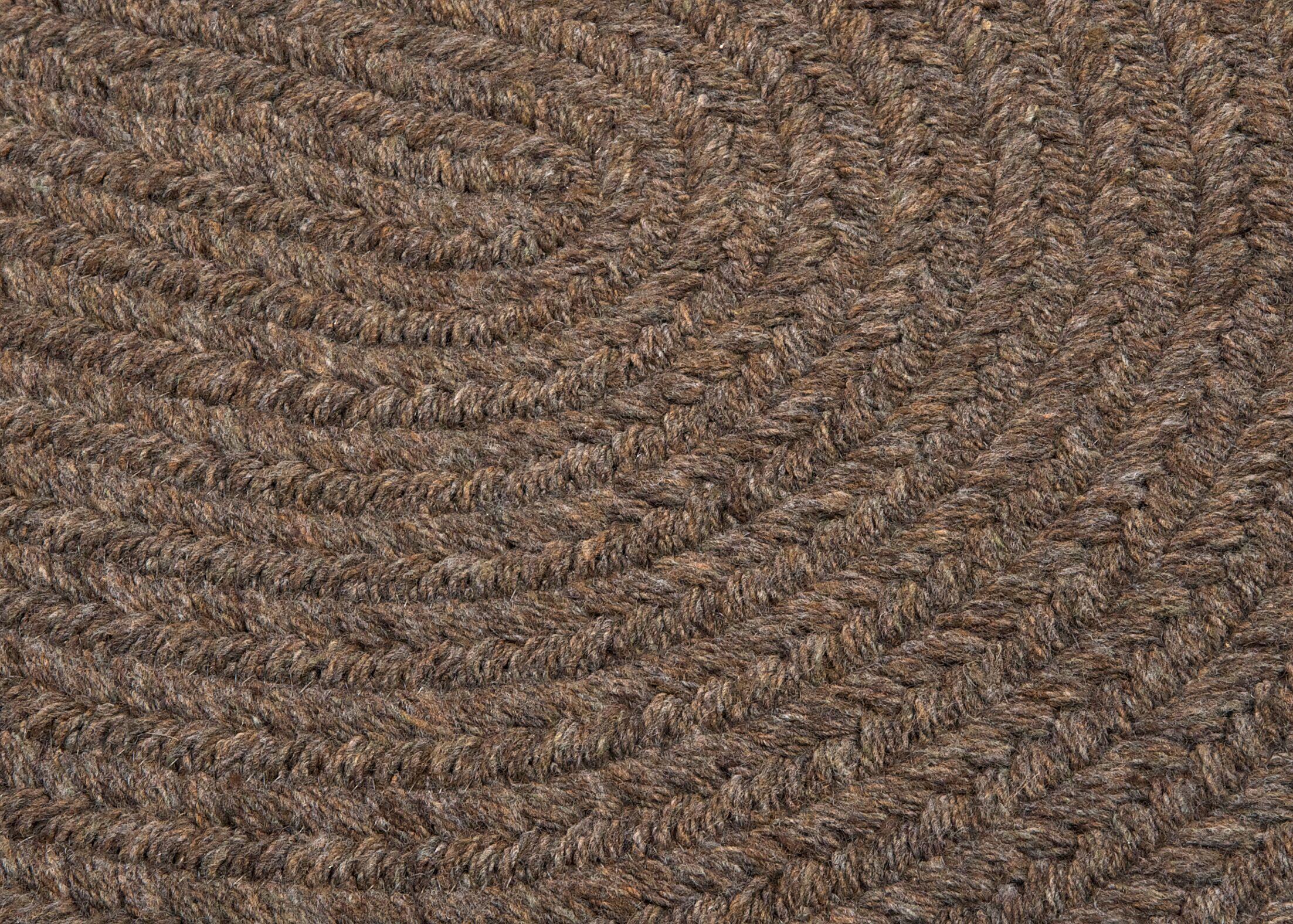 Navarrette Bark Area Rug Rug Size: Round 10'