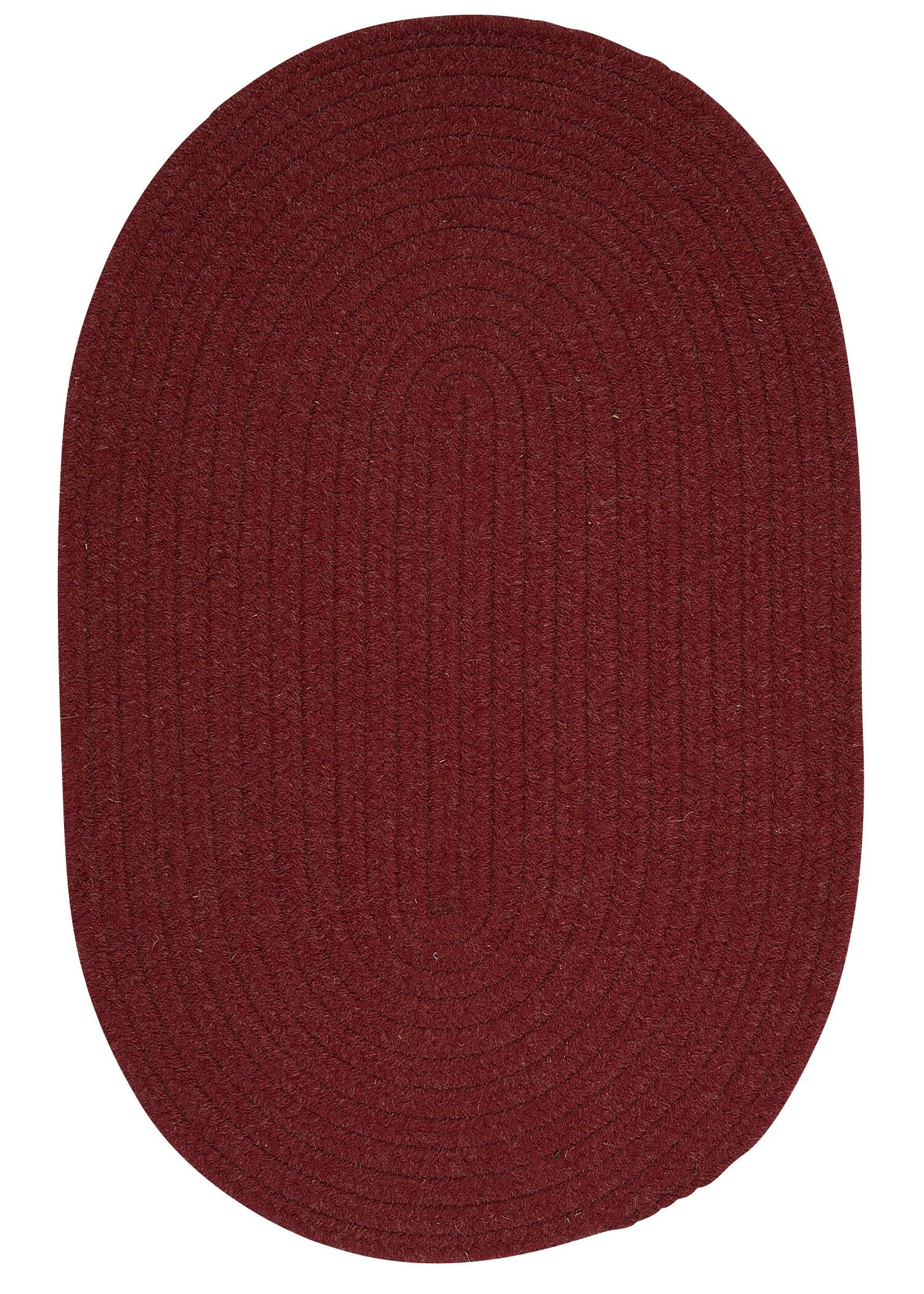 Navarrette Holly Berry Area Rug Rug Size: Round 4'