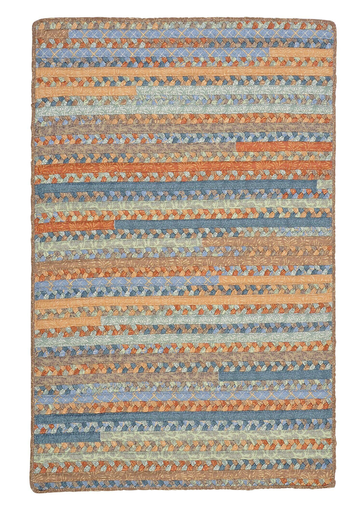 Surette Vintage Blue Rug Rug Size: Rectangle 2' x 4'