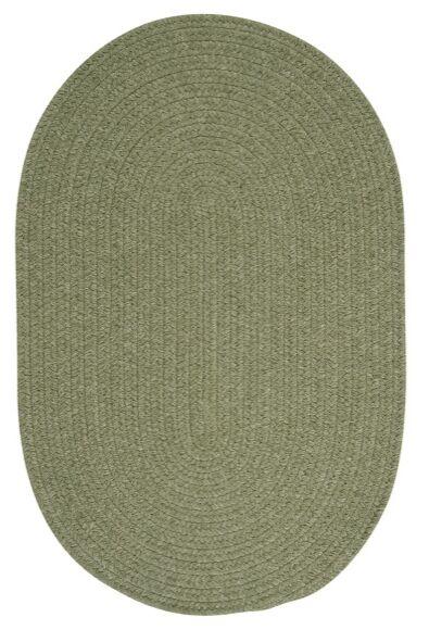 Navarrette Green Area Rug Rug Size: Oval 2' x 4'