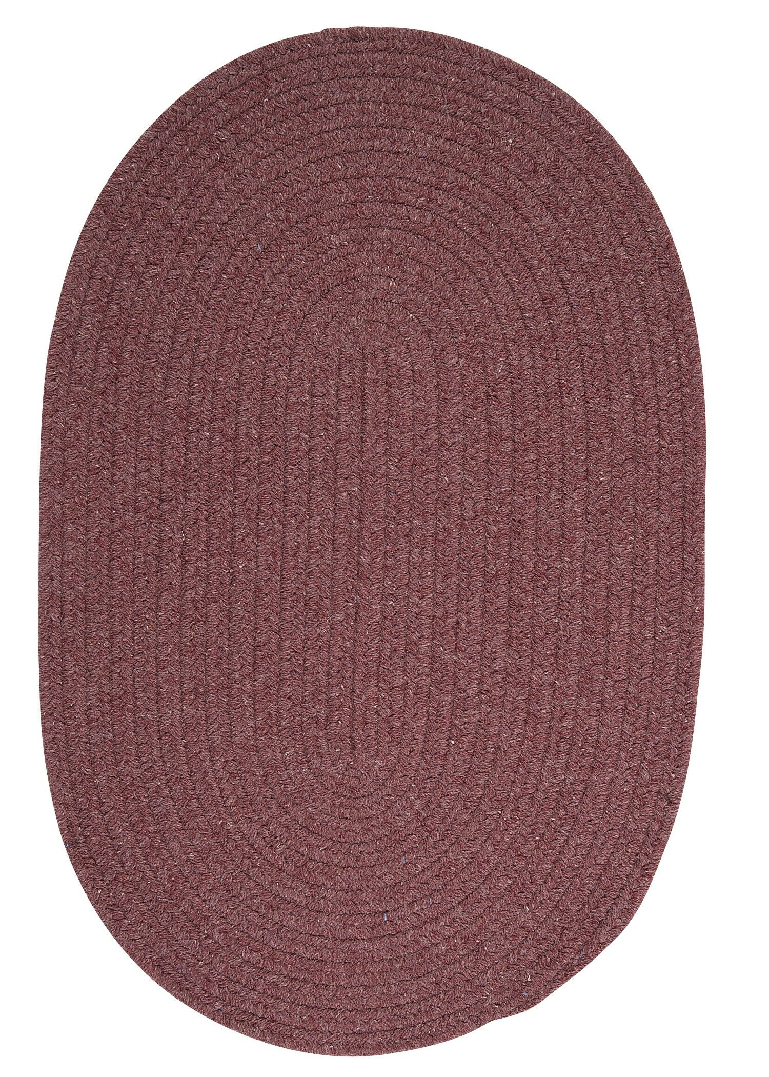 Navarrette Purple Area Rug Rug Size: Round 6'