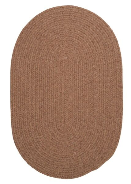 Navarrette Brown Area Rug Rug Size: Oval 5' x 8'