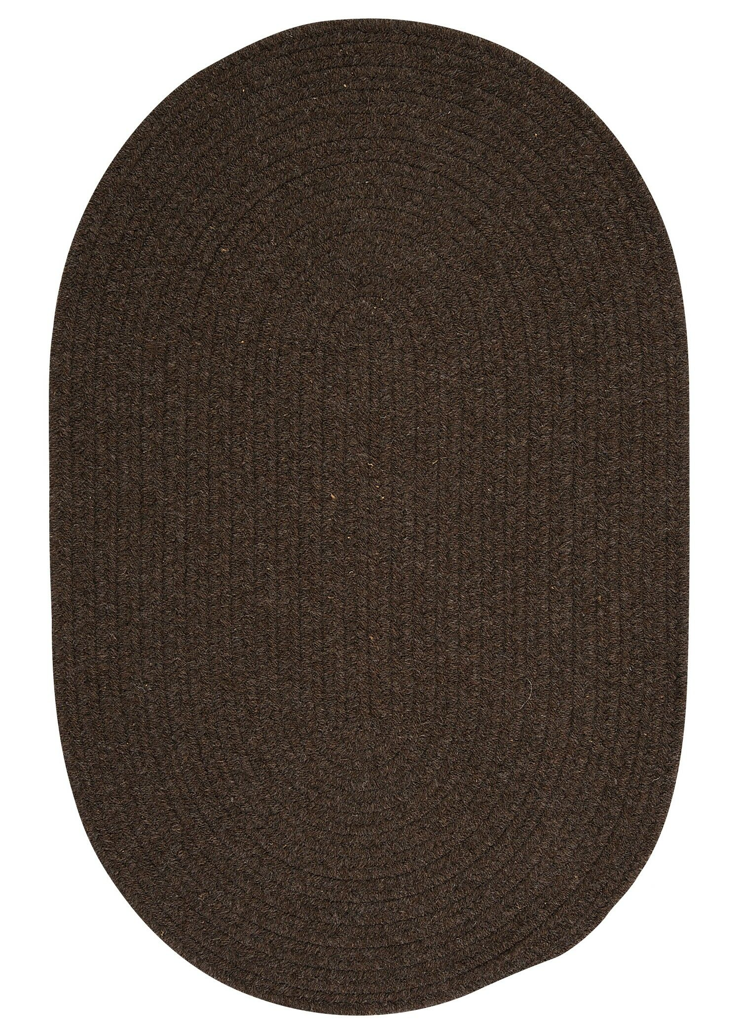 Navarrette Brown Area Rug Rug Size: Oval 3' x 5'