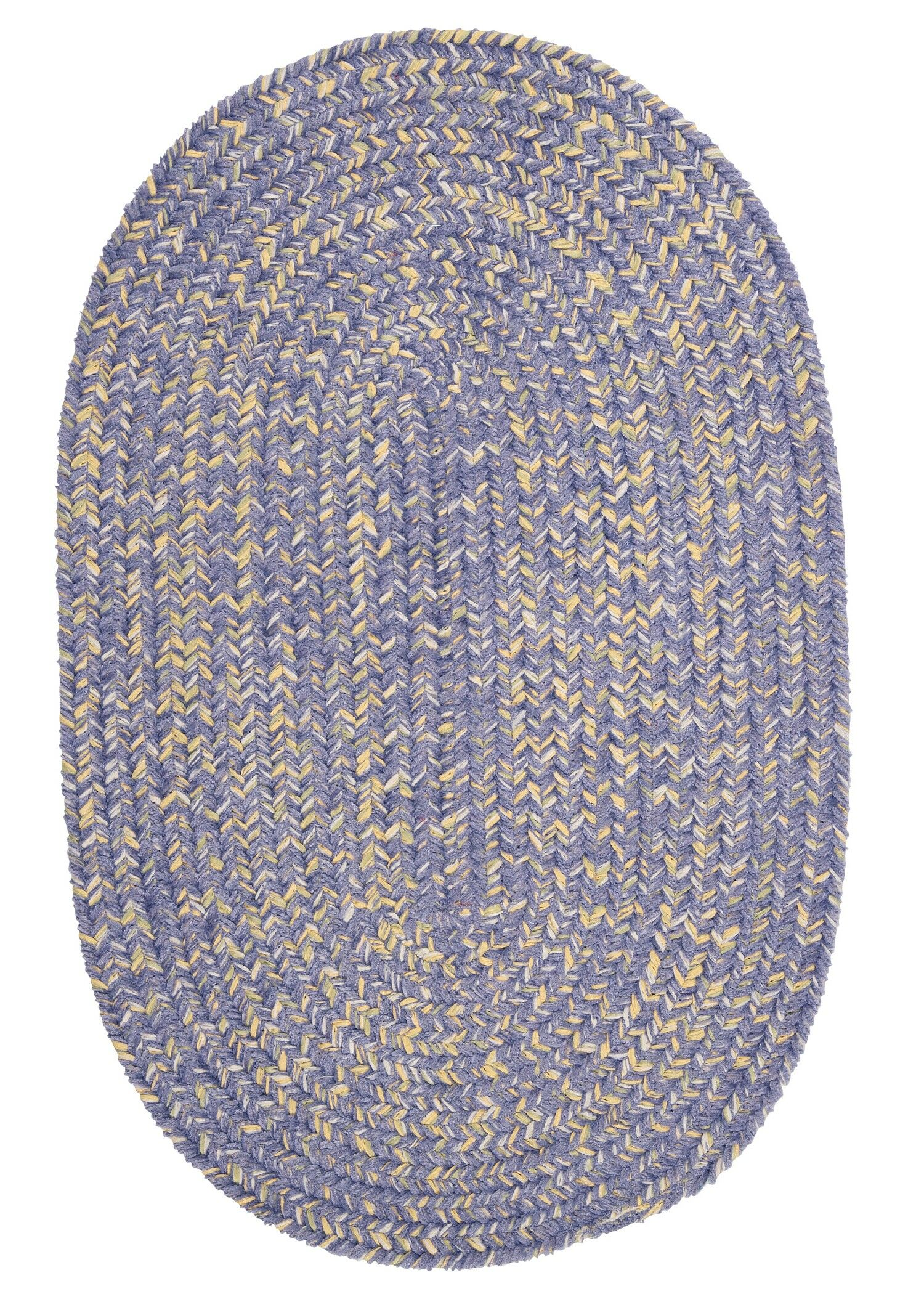 Annet Amethyst Area Rug Rug Size: Oval 4' x 6'