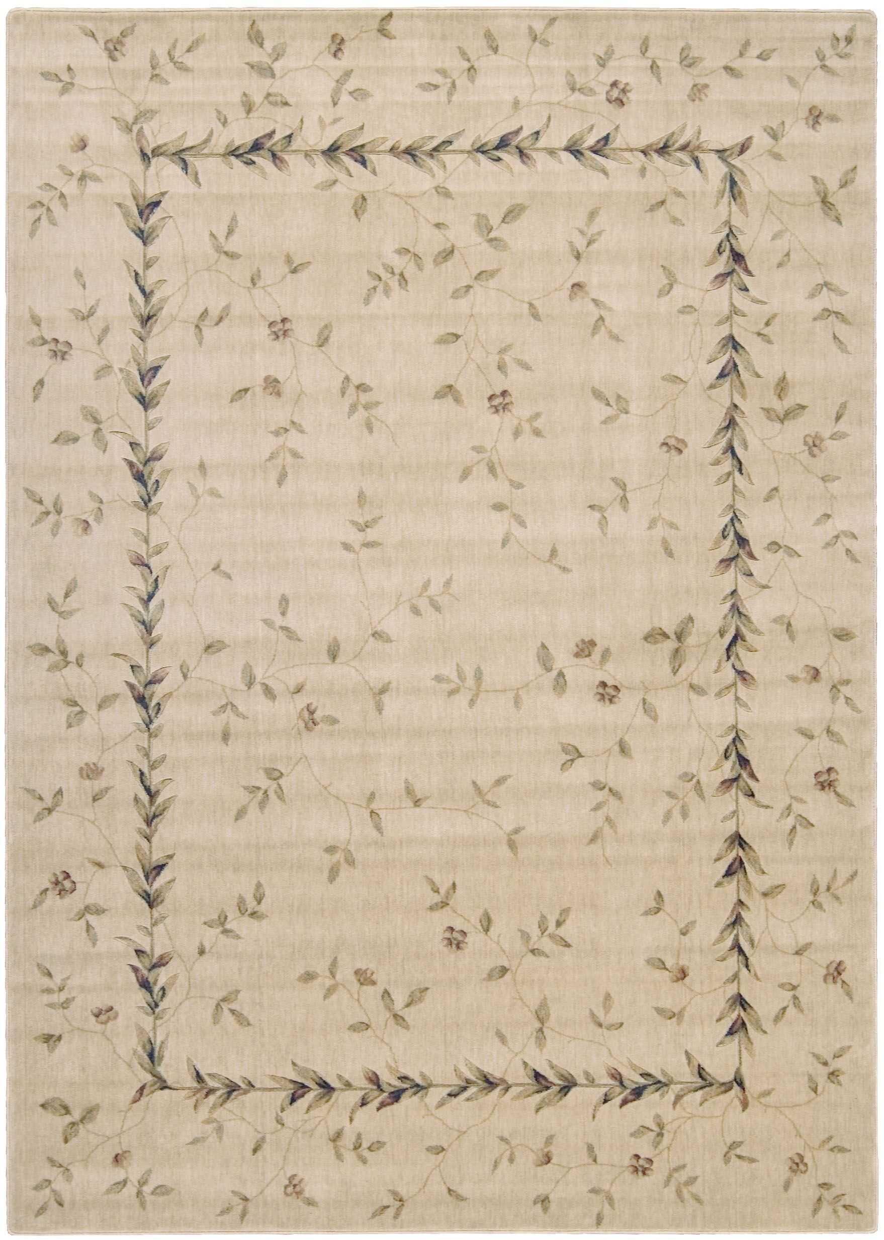 Sharon Beige Area Rug Rug Size: Rectangle 2' x 2'9