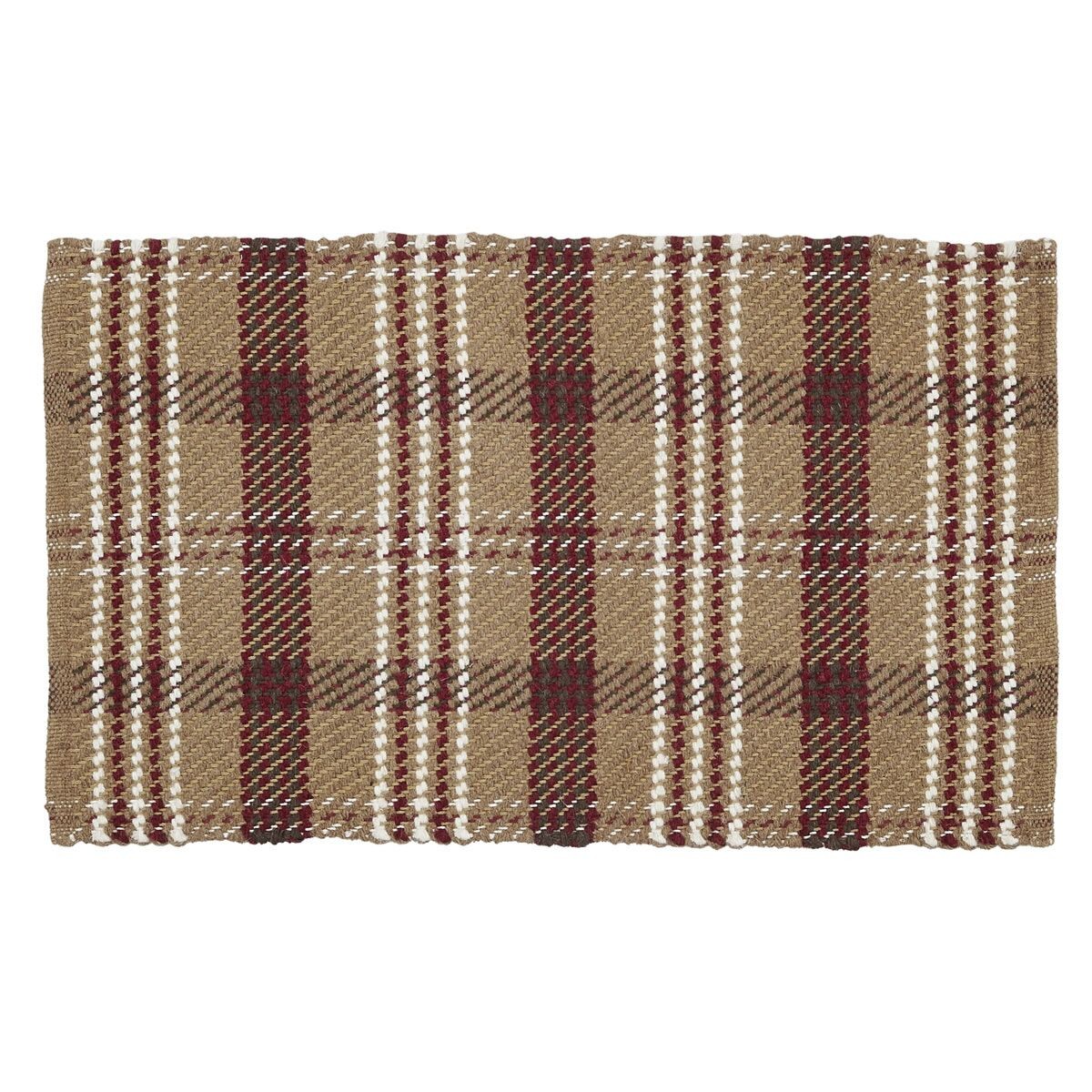 Whigham Tan / Dark Red Area Rug Rug Size: 4' x 6'
