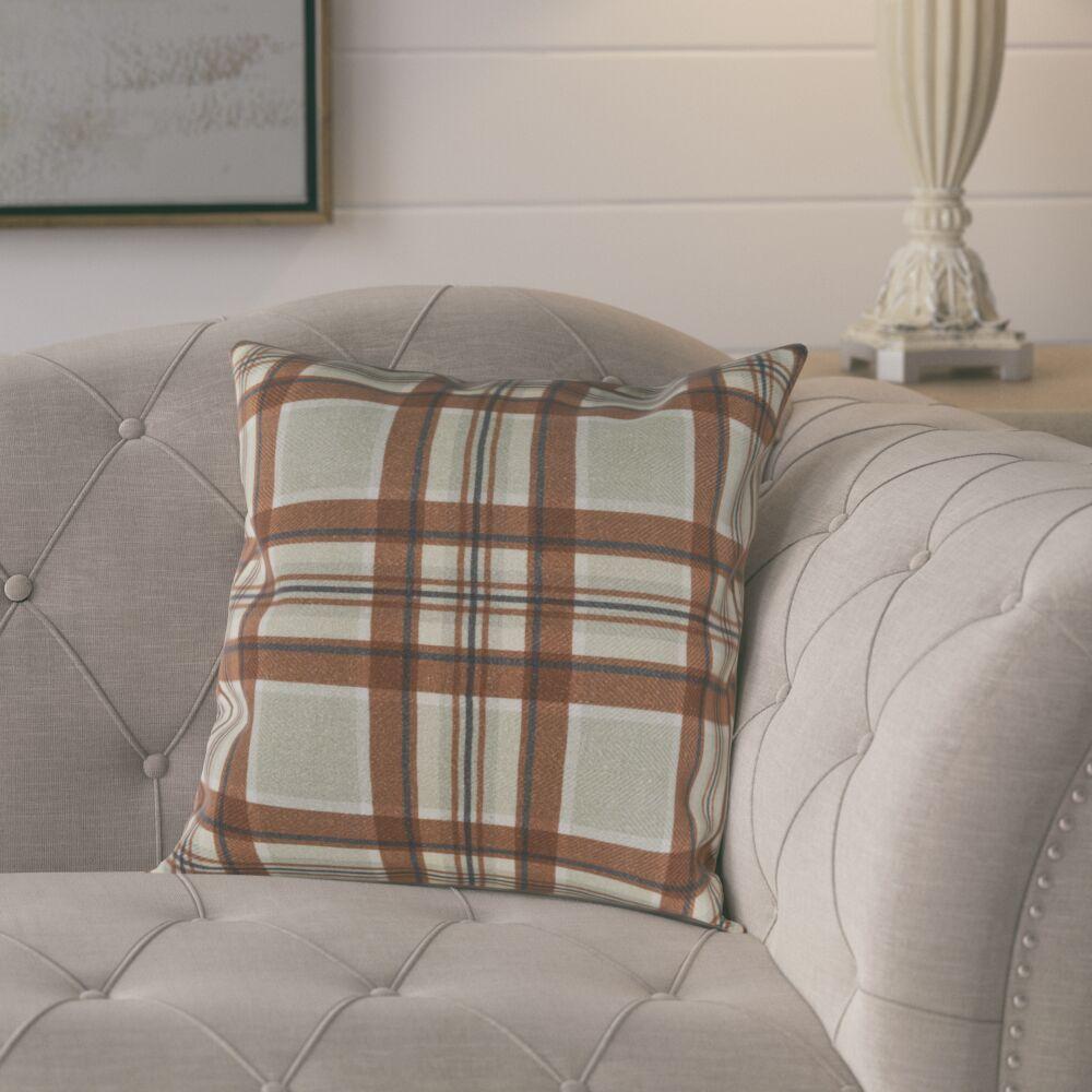 Cavalier Cotton Pillow Cover Size: 18