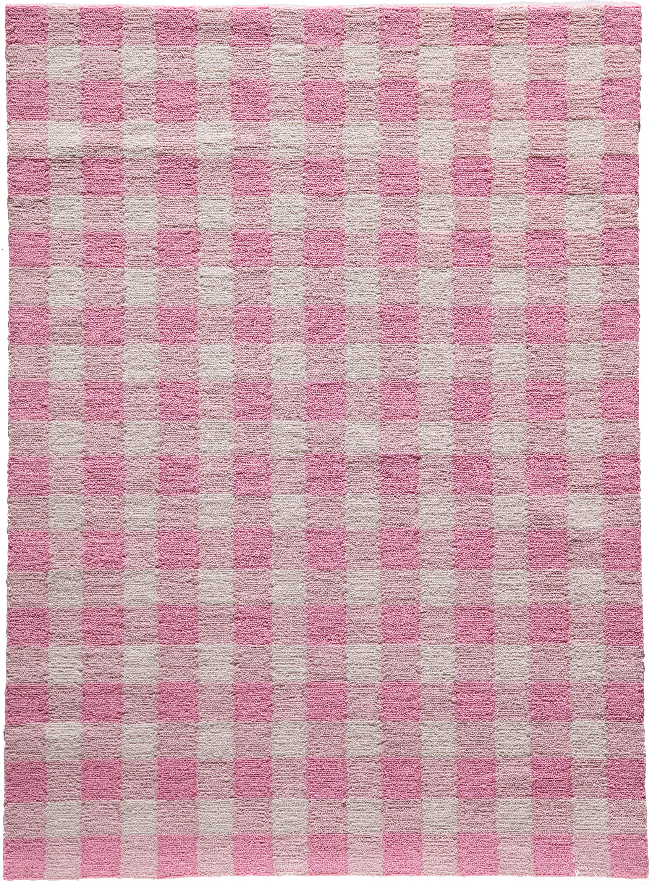 Violet Hand-Woven Pink Area Rug Rug Size: Rectangle 3'6