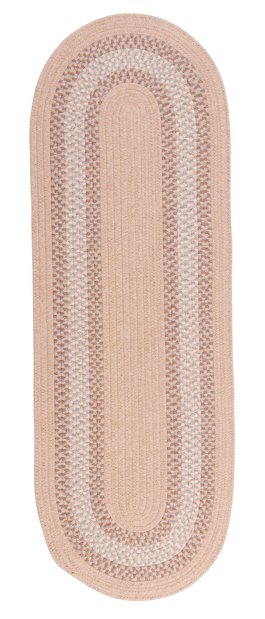 Serafin Oatmeal Area Rug Rug Size: Oval Runner 2' x 10'