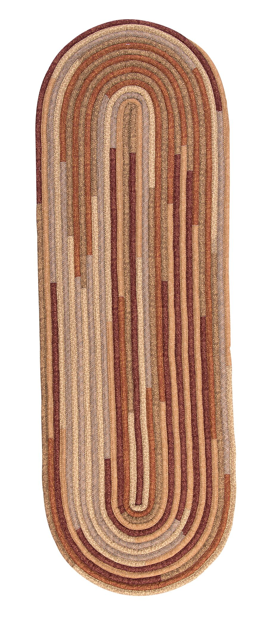 Chapelle Red Area Rug Rug Size: Oval Runner 2' x 12'