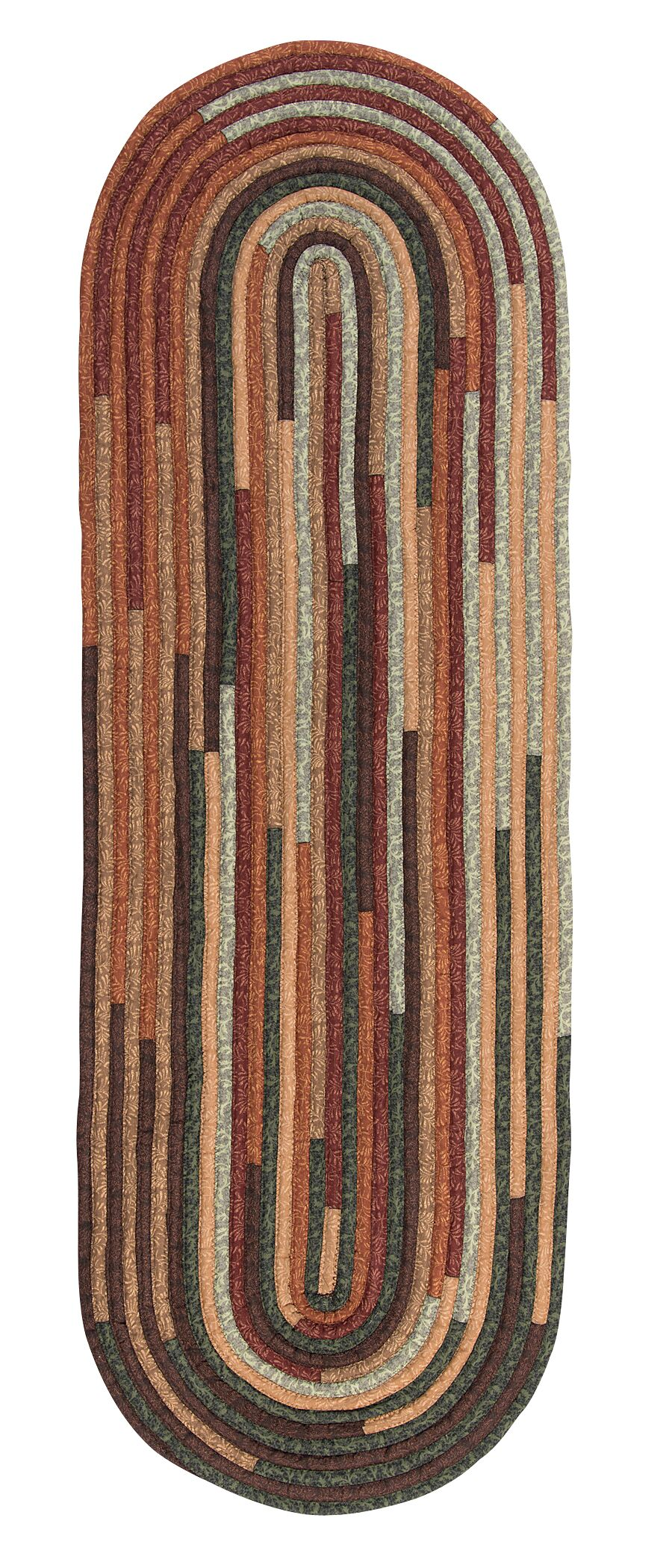 Chapelle Brown Area Rug Rug Size: Runner 2' x 10'
