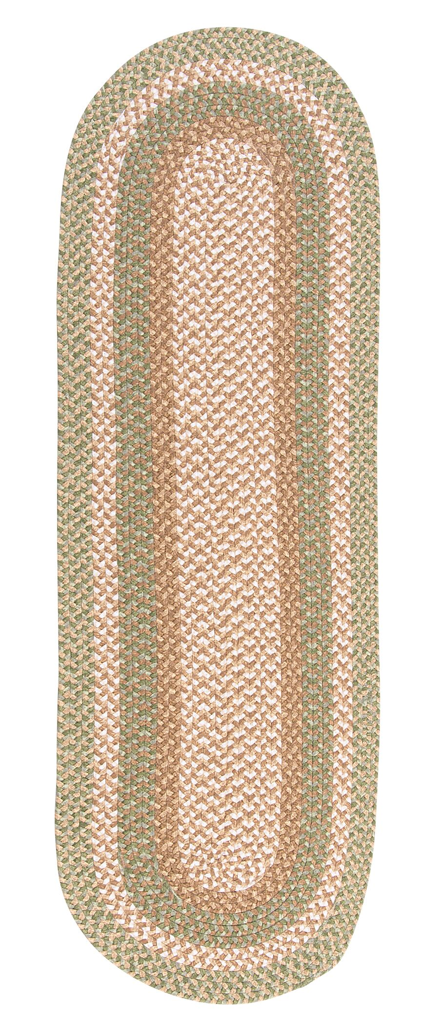 Fresnay Green Area Rug Rug Size: Runner 2' x 12'