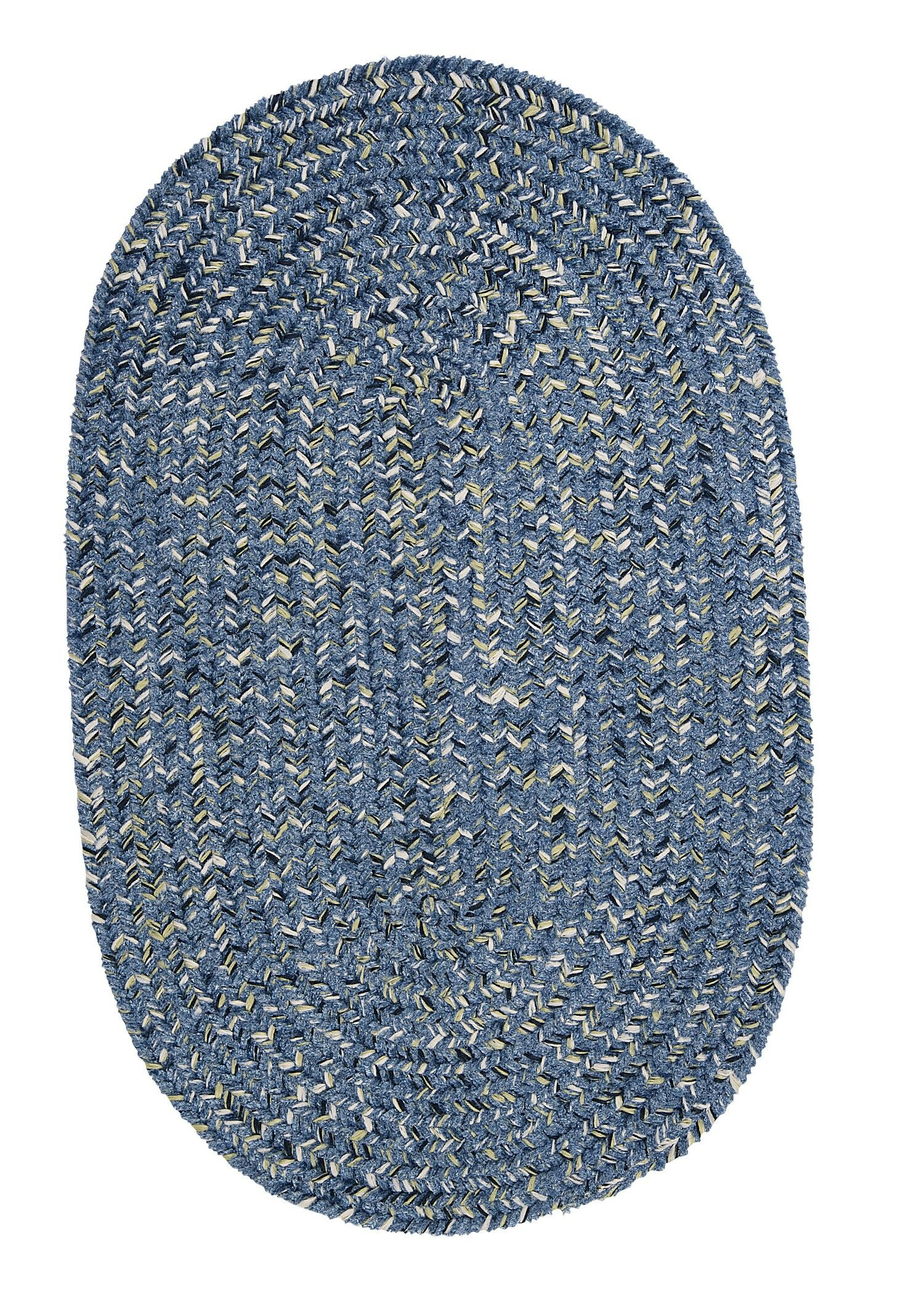 Annet Blue Area Rug Rug Size: Oval 10' x 13'