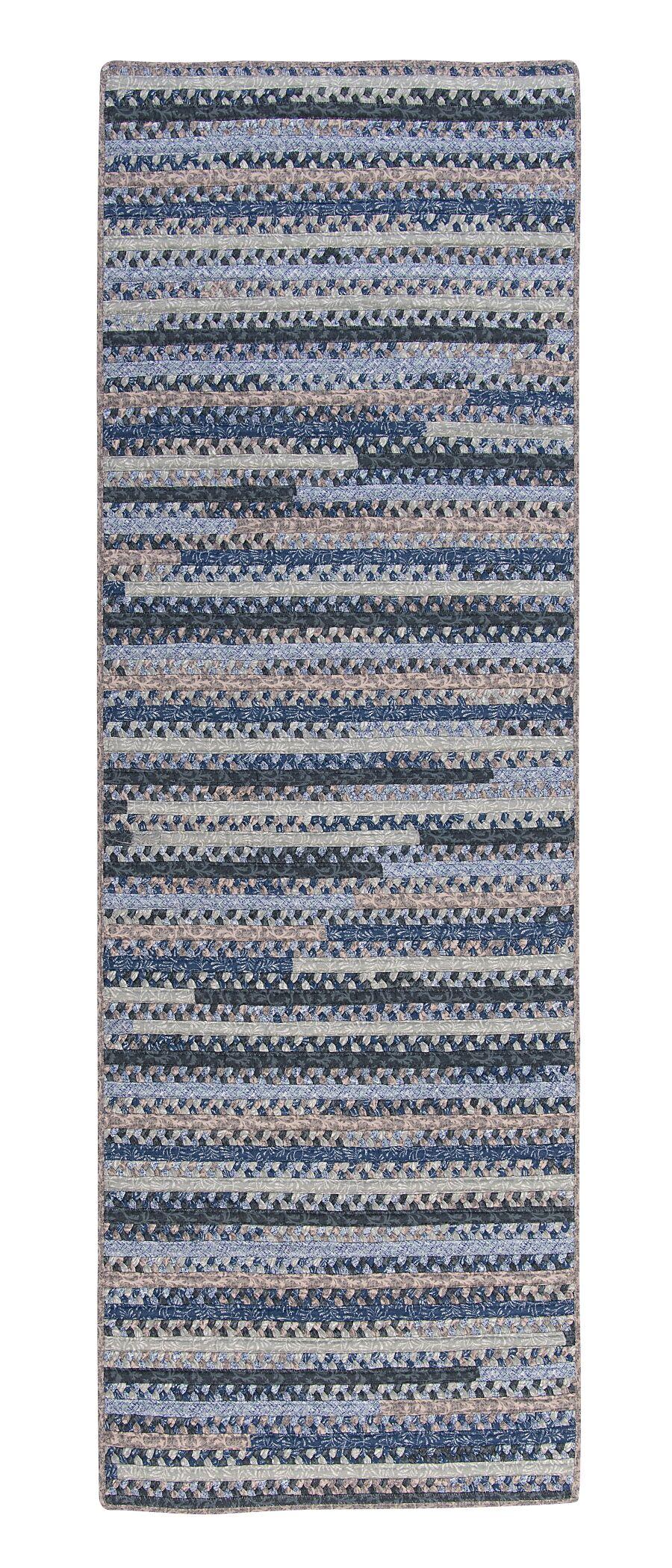 Byron Blue Area Rug Rug Size: Runner 2' x 8'