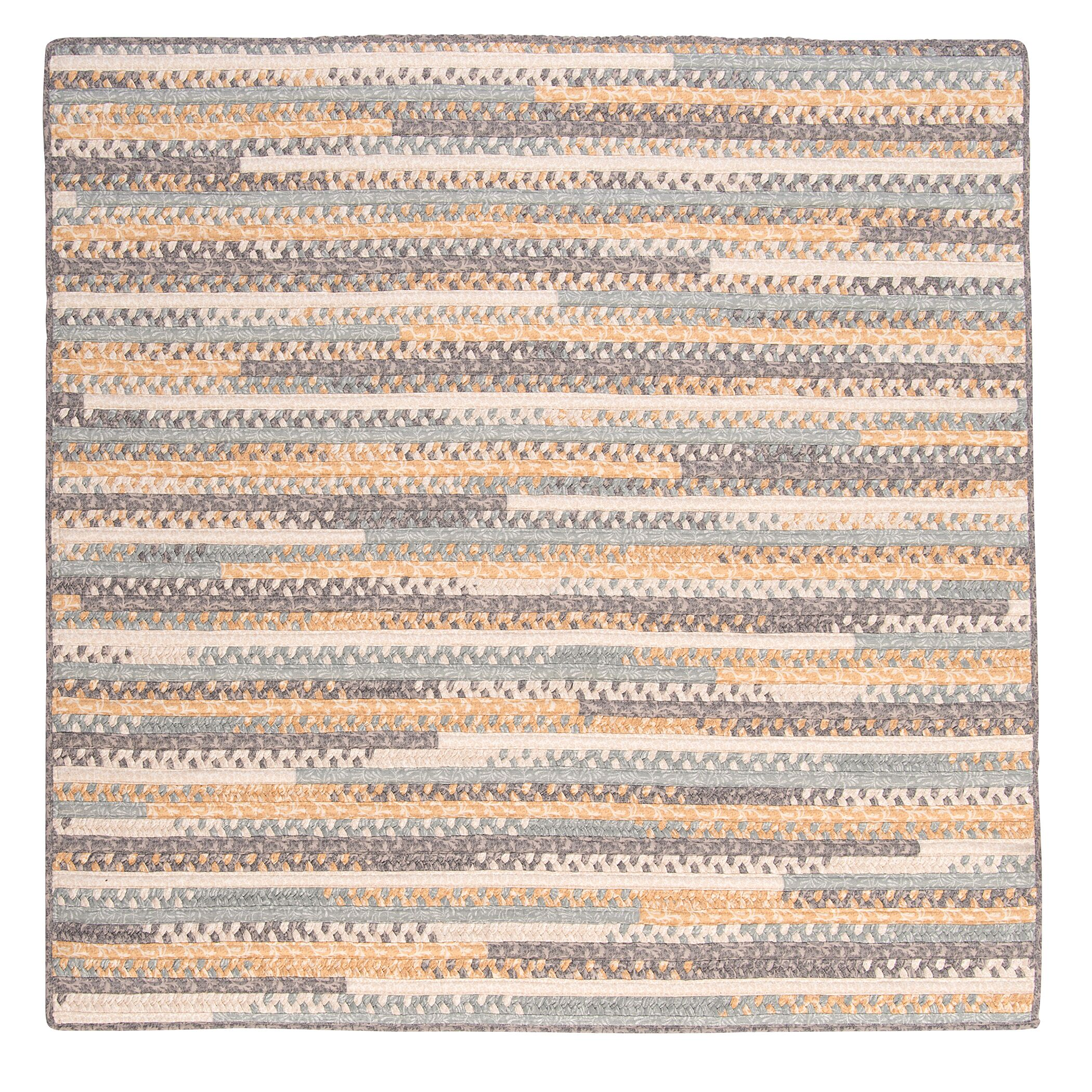 Byron Yellow Area Rug Rug Size: Square 12'