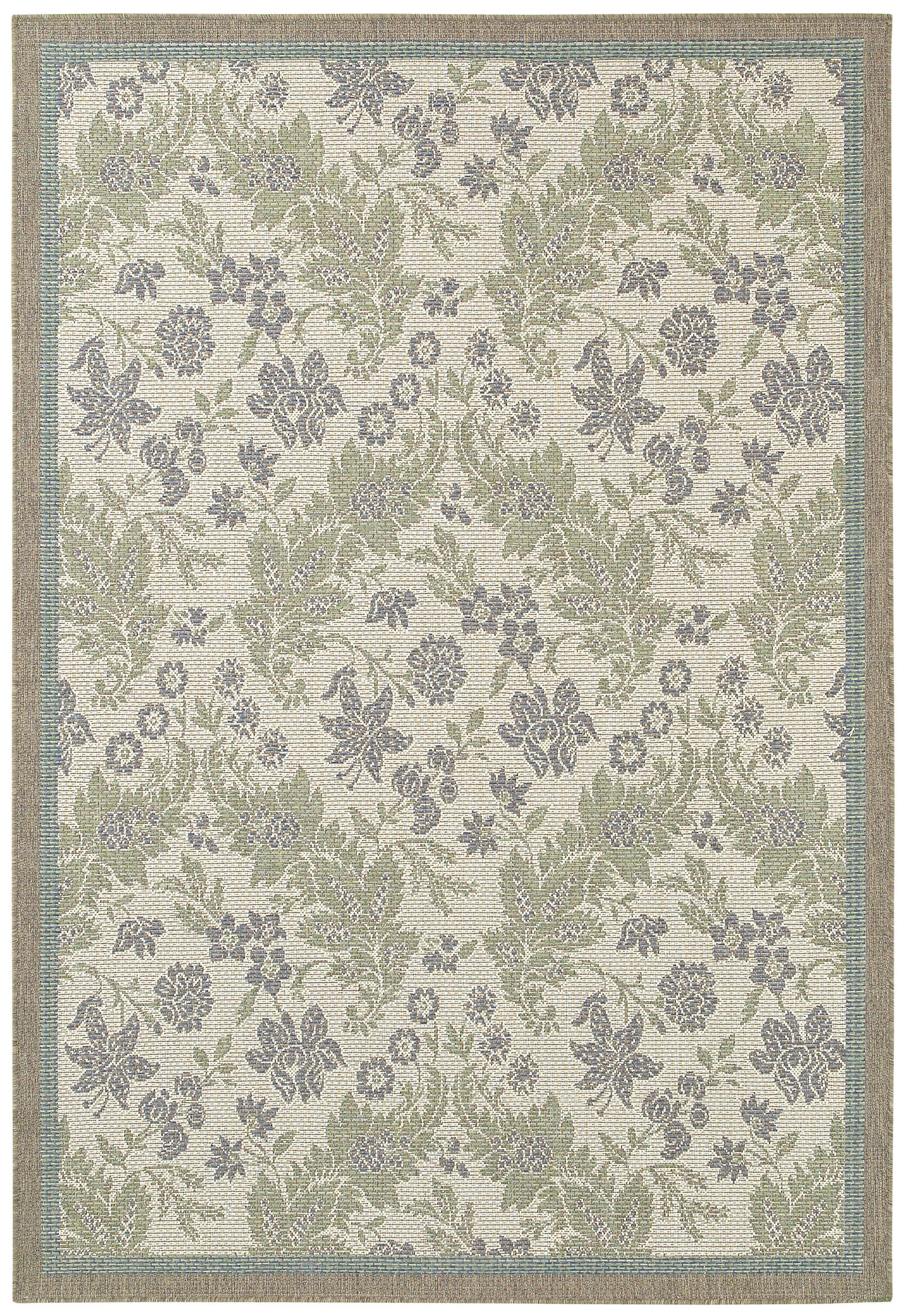 Avallon Champagne Indoor/Outdoor Area Rug Rug Size: Rectangle 5'10