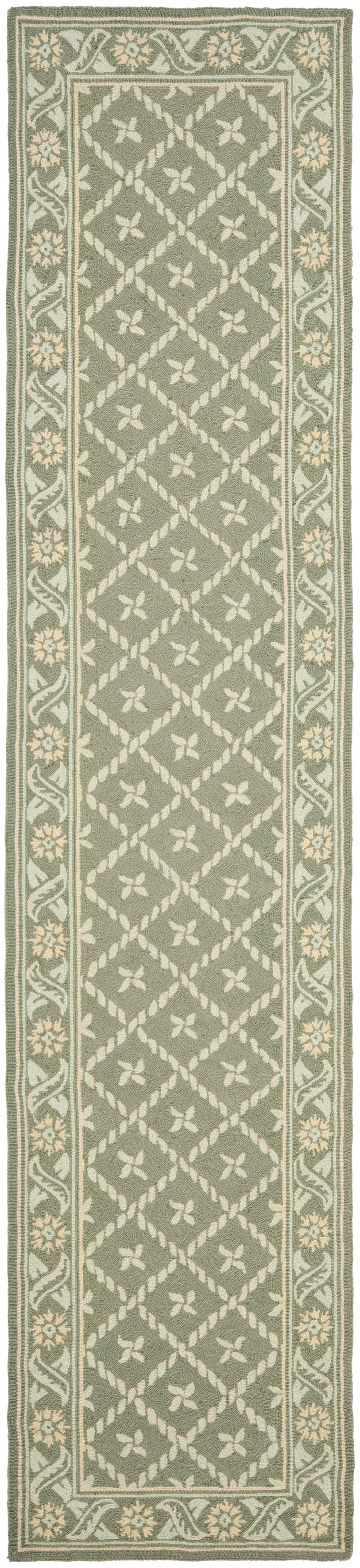 Pipers Green Area Rug Rug Size: Runner 2'3