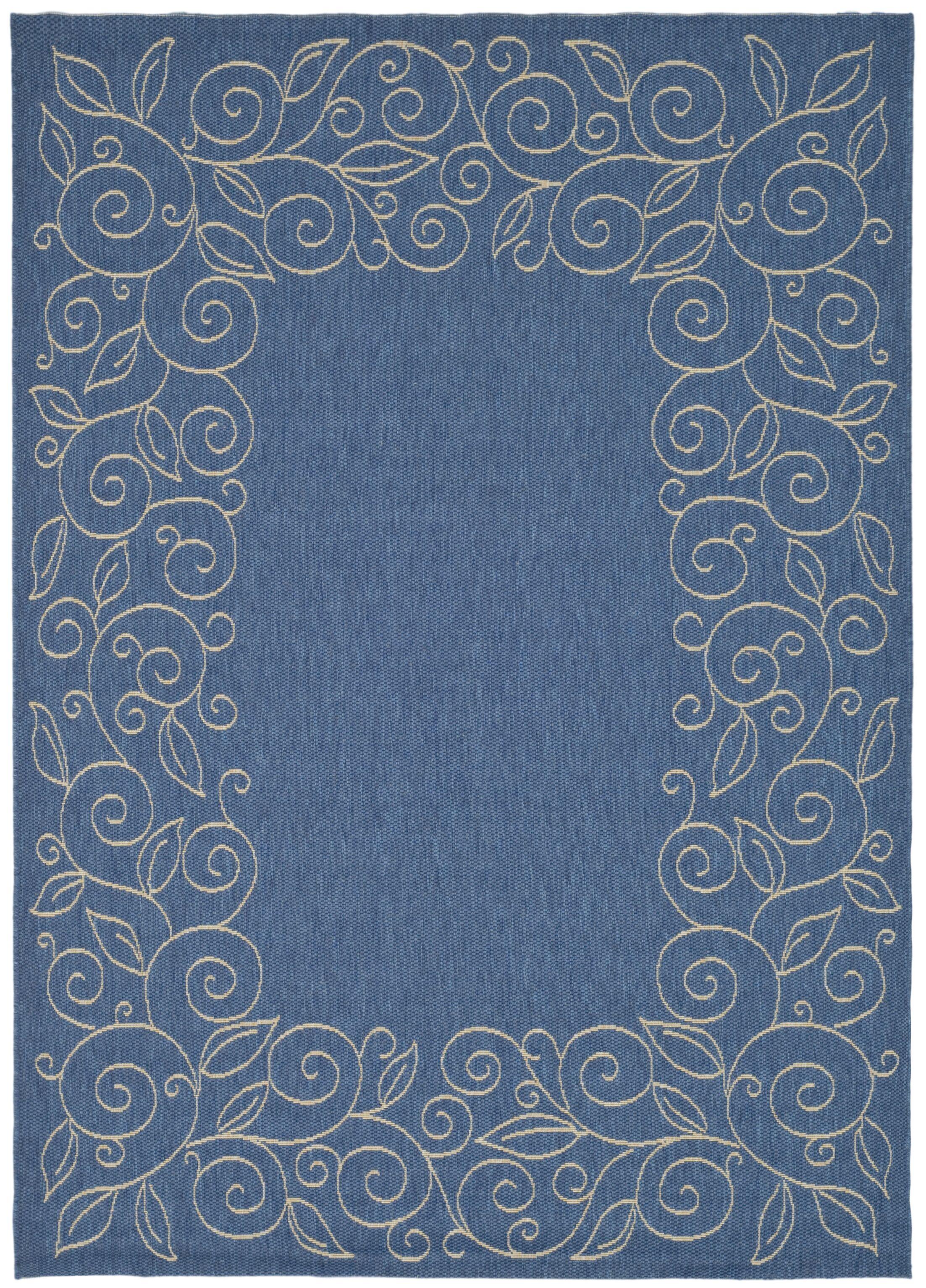 Laurel Blue Area Rug Rug Size: Rectangle 9' x 12'