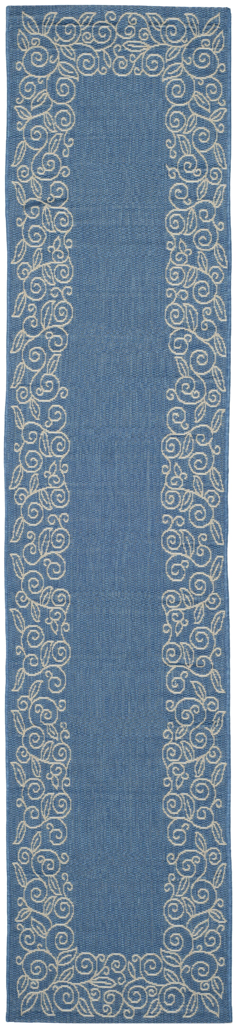 Laurel Blue Area Rug Rug Size: Runner 2'4
