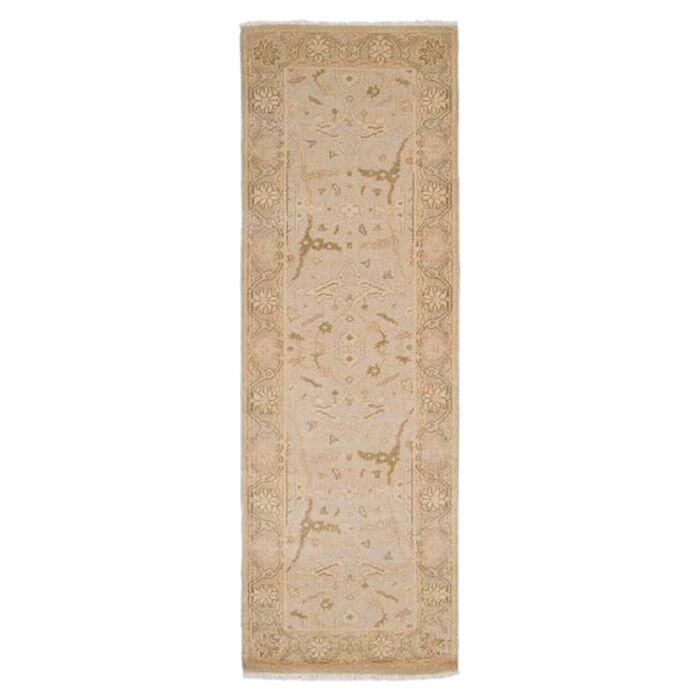 Hinson Cream/Beige Area Rug Rug Size: Runner 2'6