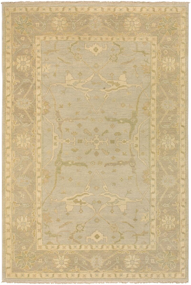 Hinson Cream/Beige Area Rug Rug Size: Rectangle 9' x 13'