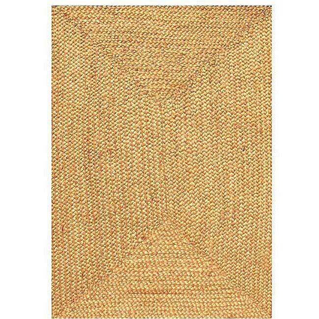 Ephemerine Natural Hand-Woven Gold Area Rug Rug Size: Rectangle 5' x 8'