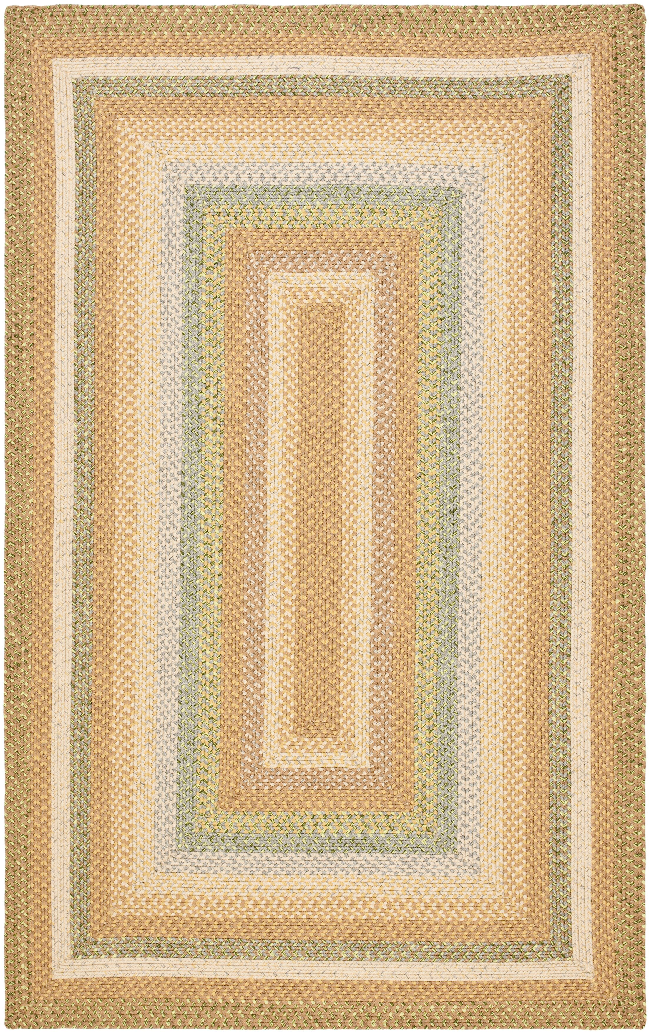 Georgina Tan/Multi Area Rug Rug Size: Rectangle 4' x 6'