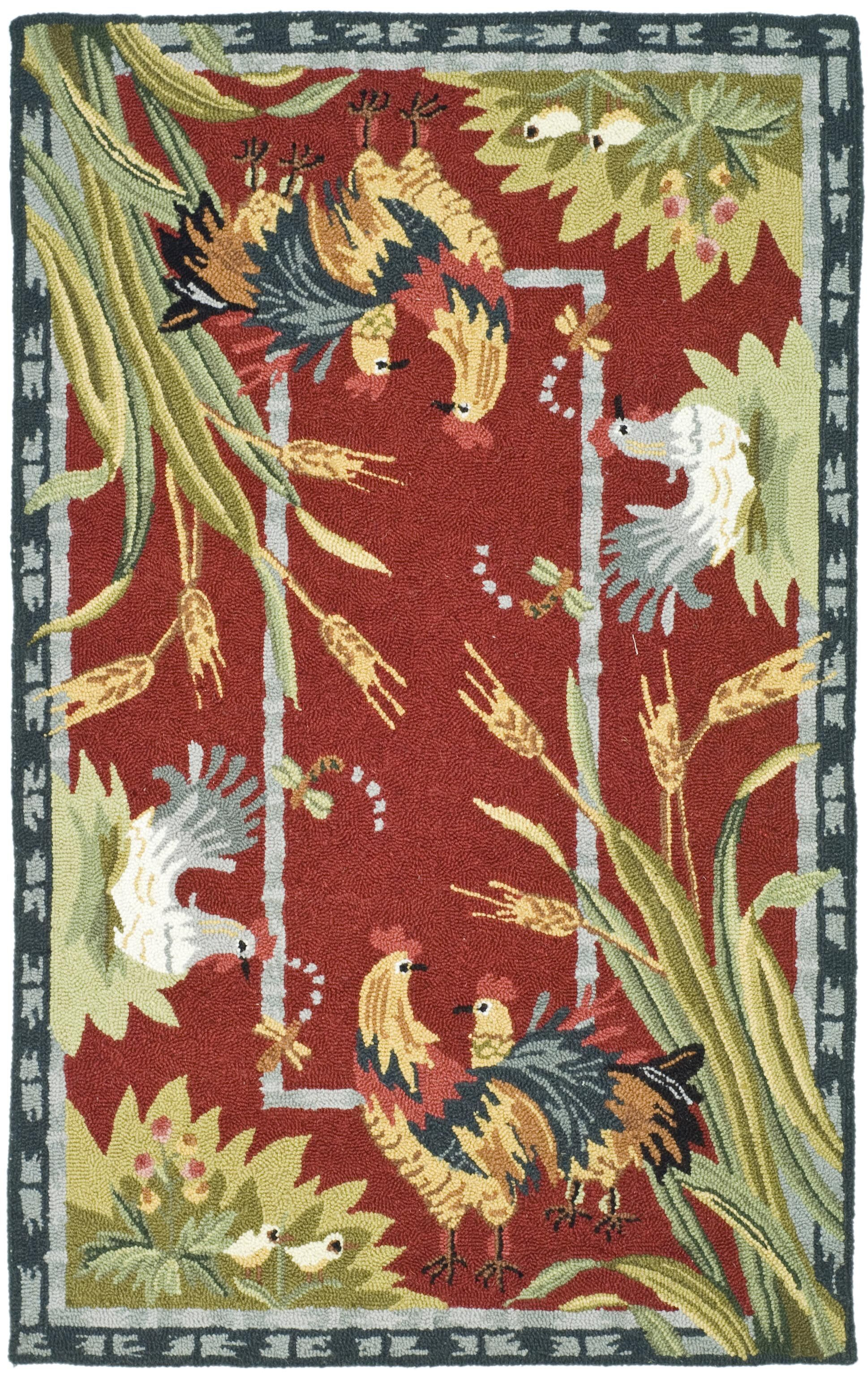 Kinchen Country Novelty Rug Rug Size: Rectangle 6' x 9'