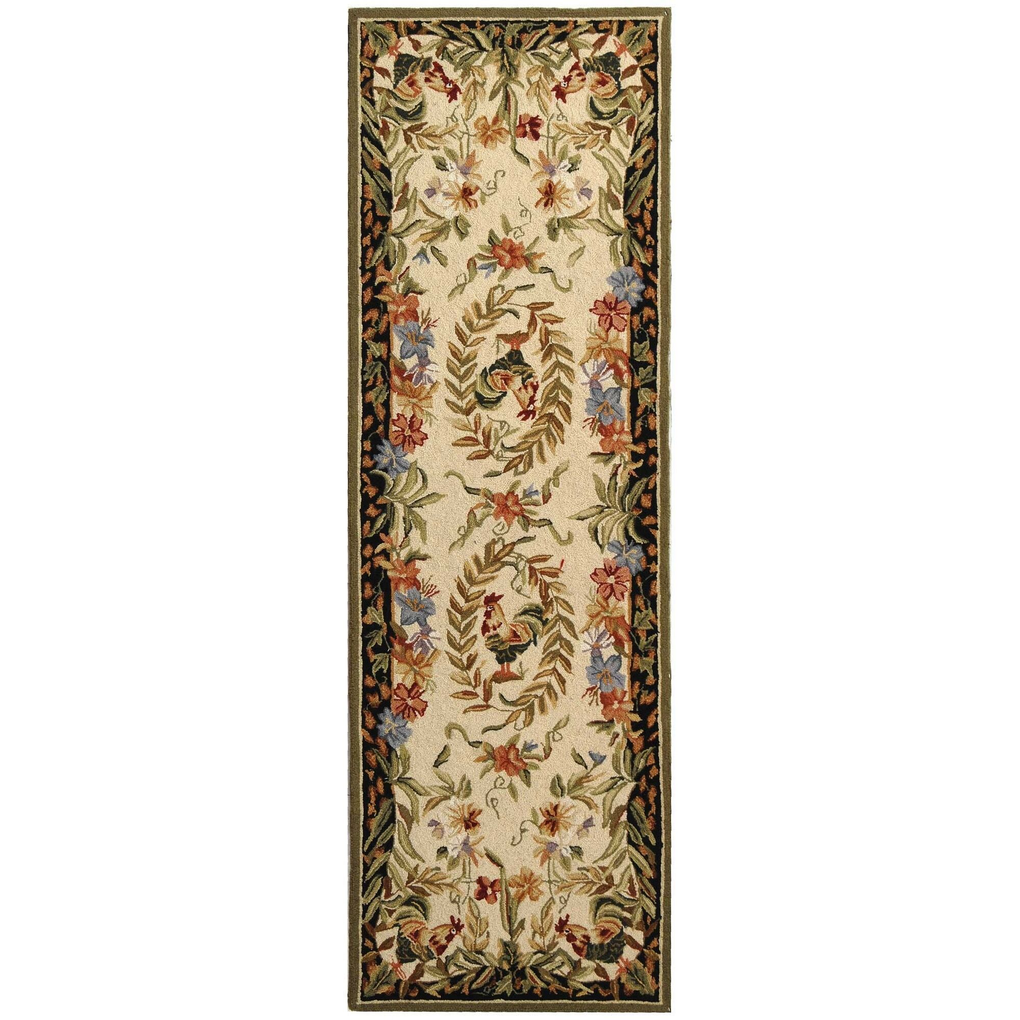 Kinchen Chicken Novelty Area Rug Rug Size: Runner 2'6