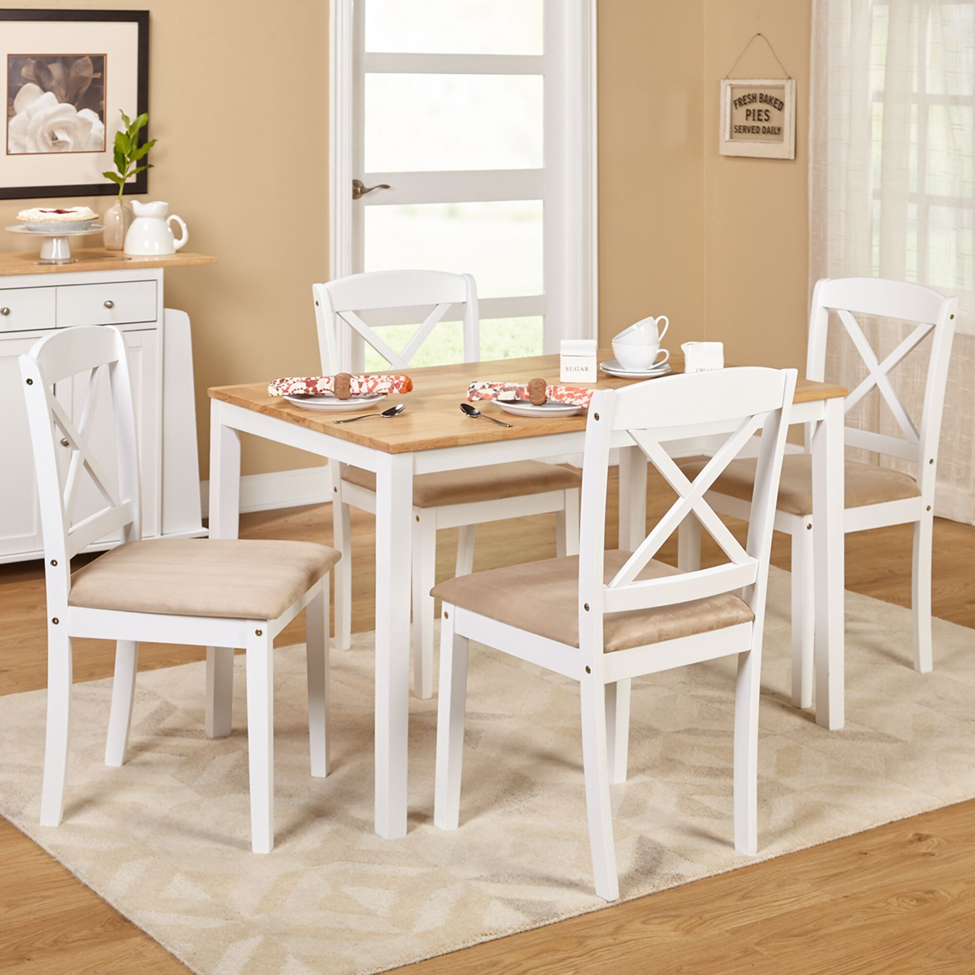 Dining Table Sets Scarlett 5 Piece Dining Set