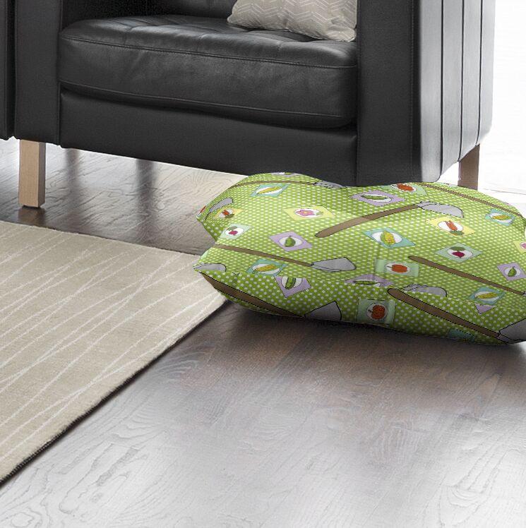 Matoury Indoor/Outdoor Floor Pillow Size: 26