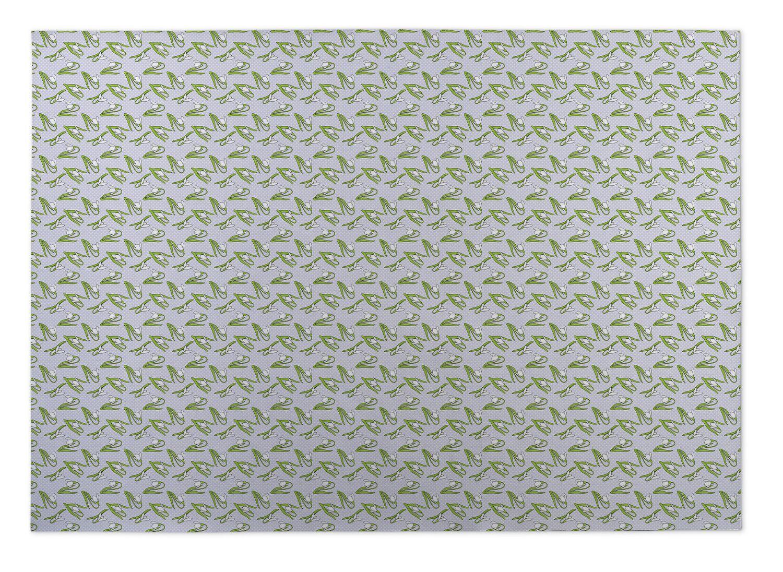 Cari Floral Indoor/Outdoor Doormat Mat Size: Rectangle 8' x 10'
