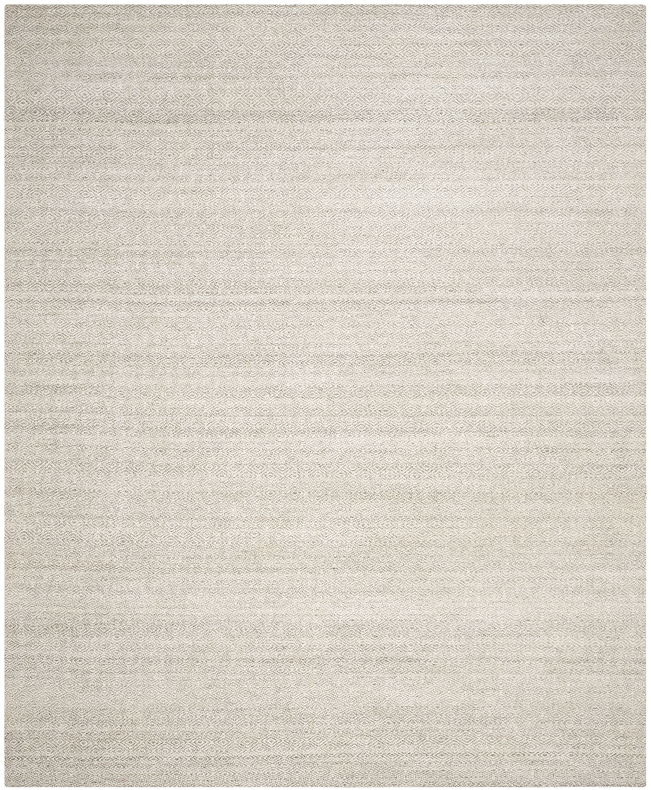 Anis Kilim Ivory/Silver Area Rug Rug Size: Rectangle 8' x 10'