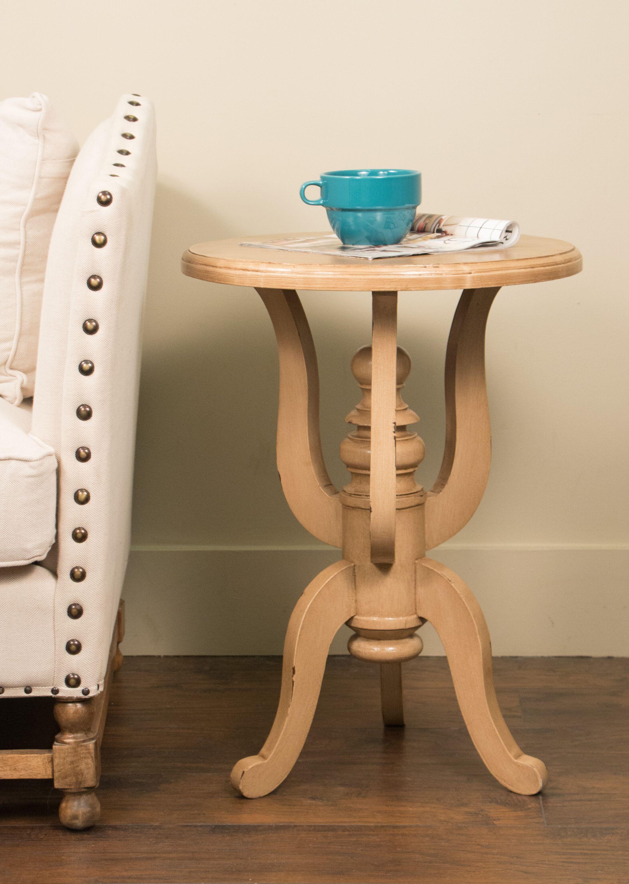 Lapierre End Table Color: Antique Wheat