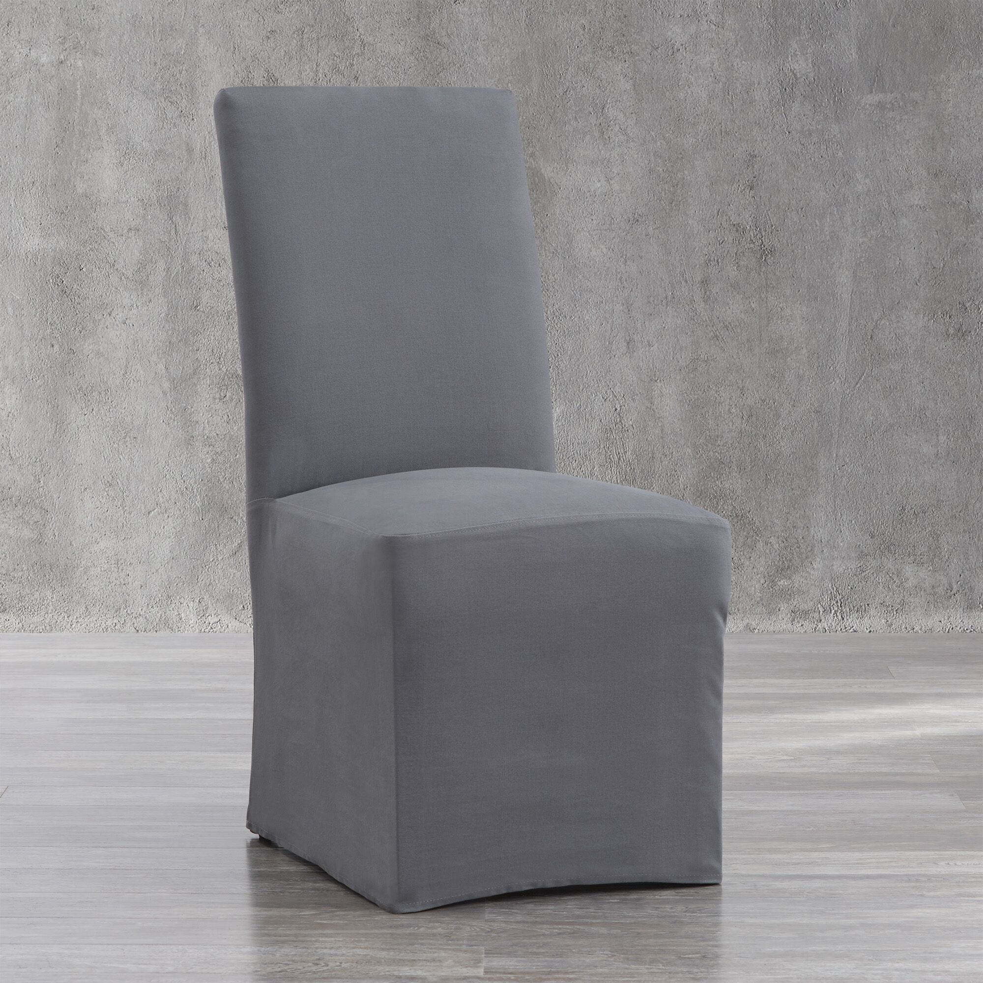 Parson Chair Upholstery Color: Gray